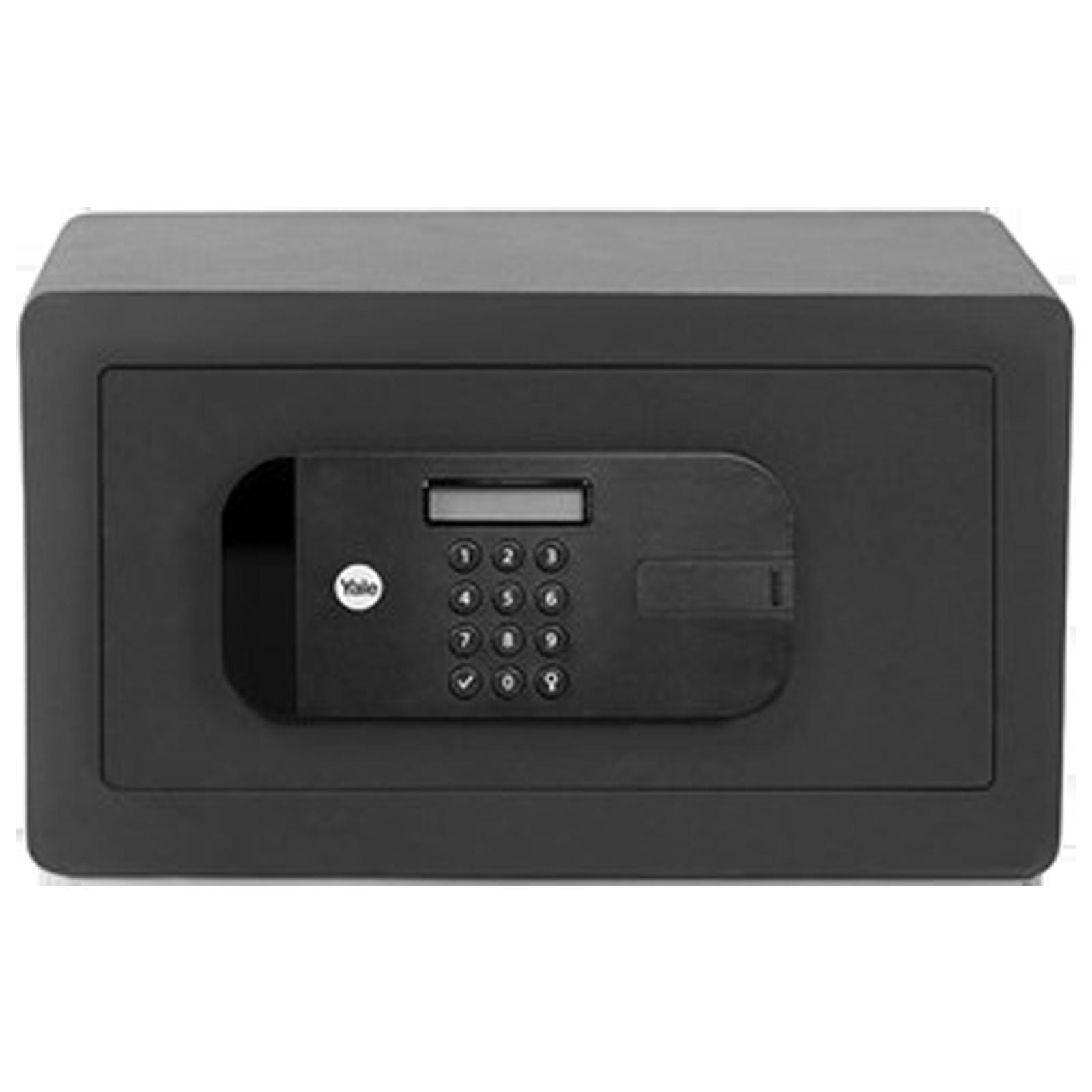 Yale 9.6 Litres Digital Safety Locker (1 Shelve, YSEB/200/EB1, Black)_1