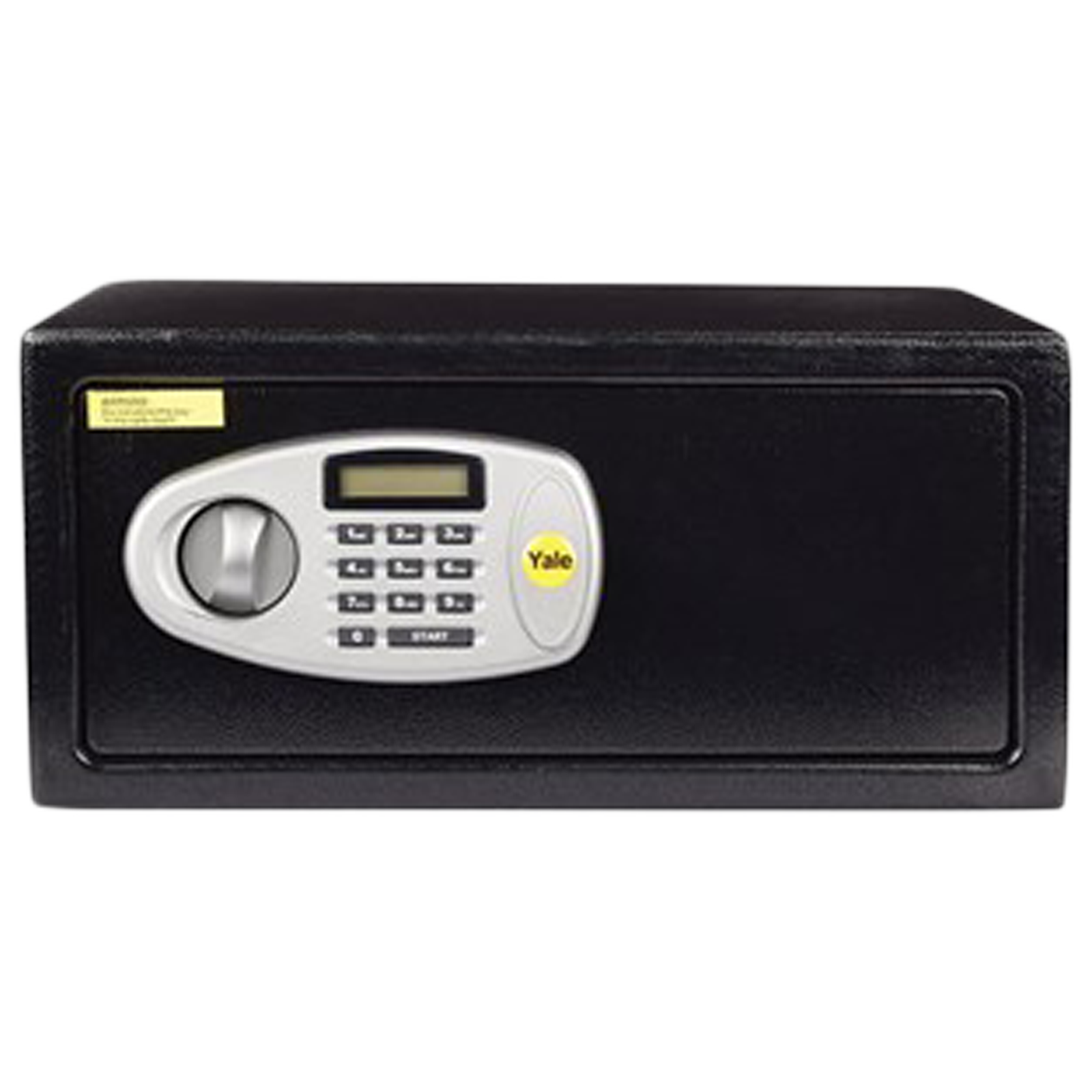 Yale 24.7 Litres Digital Safety Locker (1 Shelve, YLS/200/DB2, Black)_1