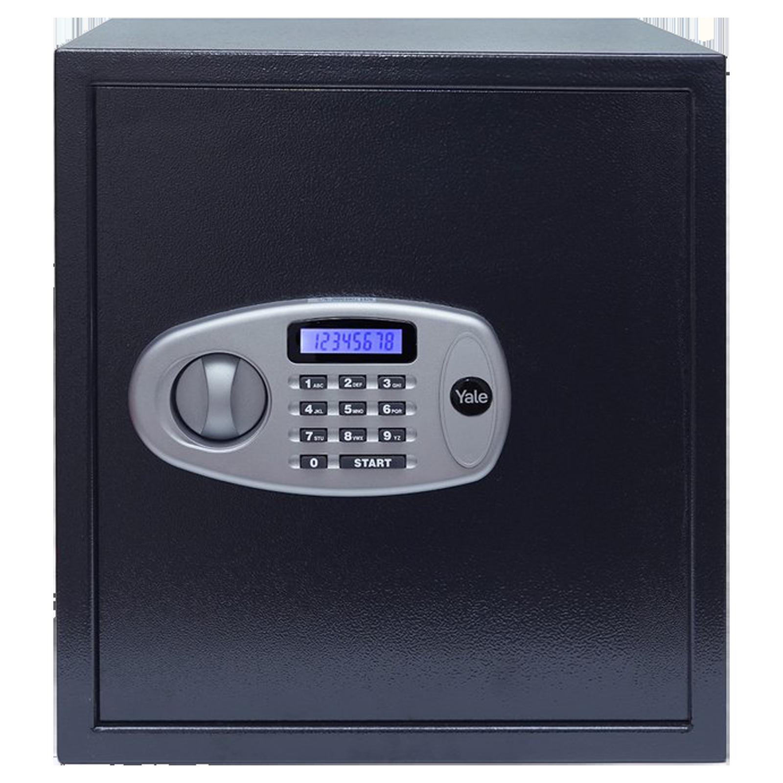 Yale 41 Litres Digital Safety Locker (1 Shelve, YSS/390/DB2, Black)_1