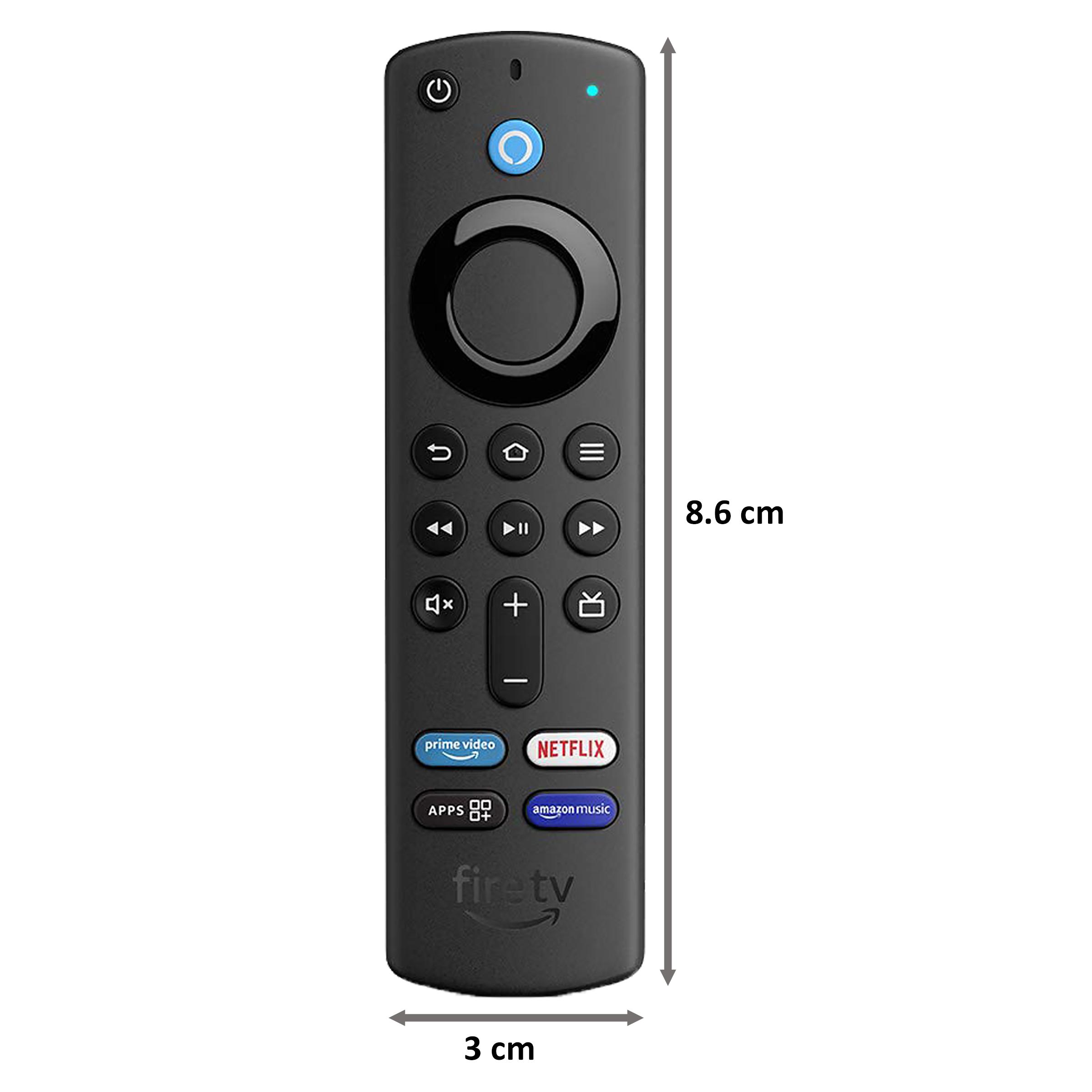 Amazon Fire TV Stick 3rd Gen with Alexa Voice Remote (Quad Core Processor, B08C1KQRR5, Black) 2