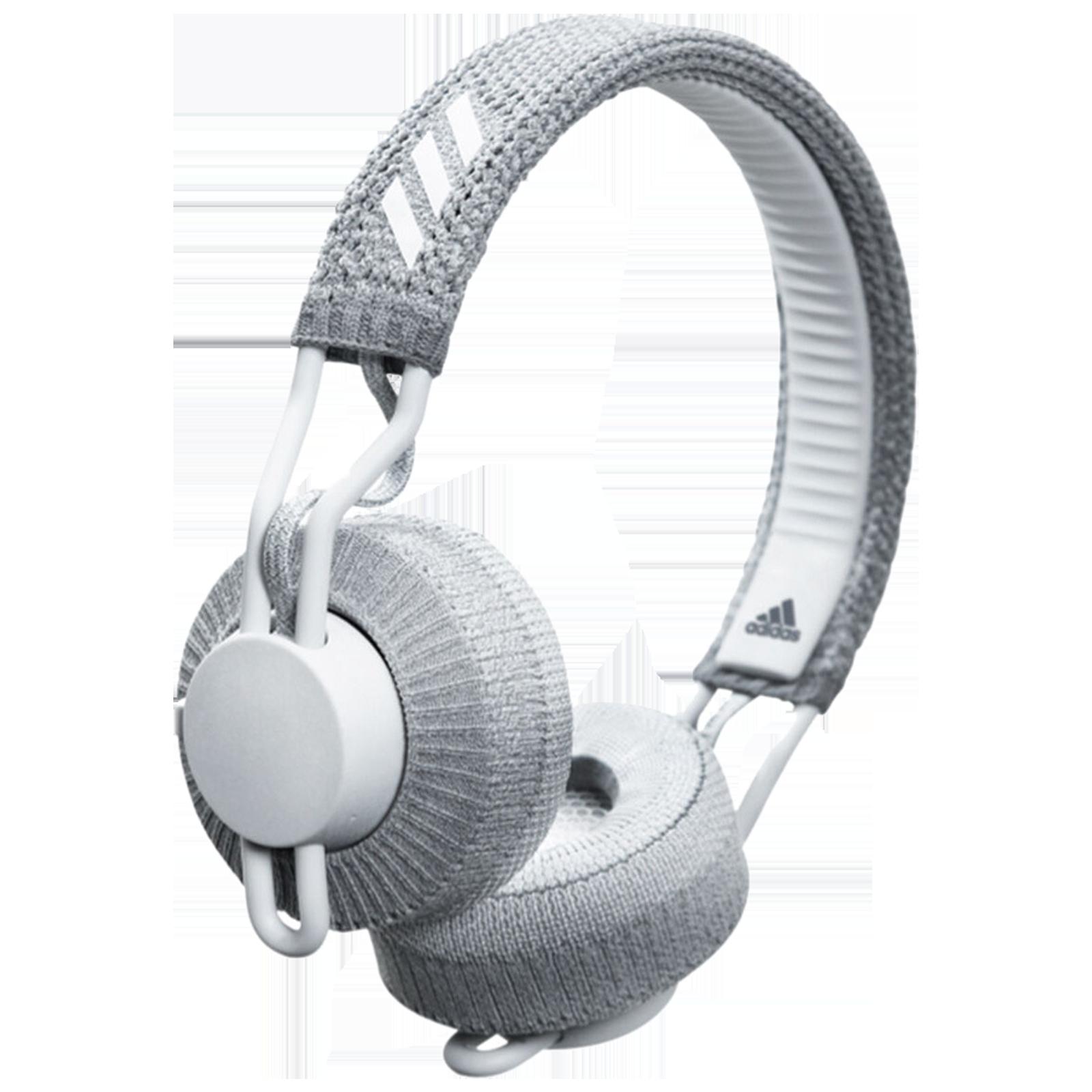 Adidas RPT-01 On-Ear Wireless Headphone with Mic (Bluetooth 5.0, Water Resistant, AD-RPT01-LGRY, Light Grey)_1