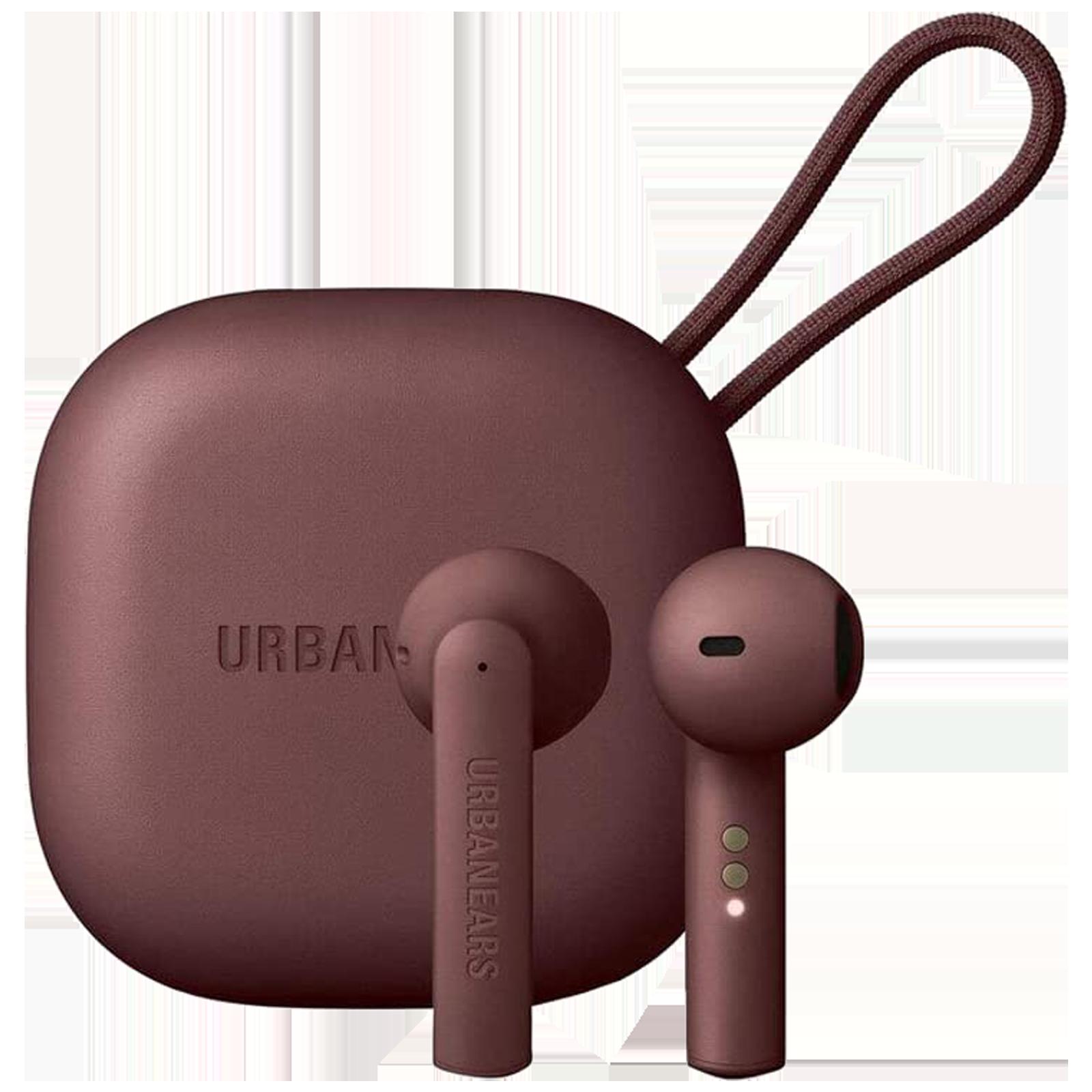 Urbanears Luma In-Ear Truly Wireless Earbuds with Mic (Bluetooth 5.0, Wear Detect Sensor, UE-LUMA-MRN, True Maroon)_1