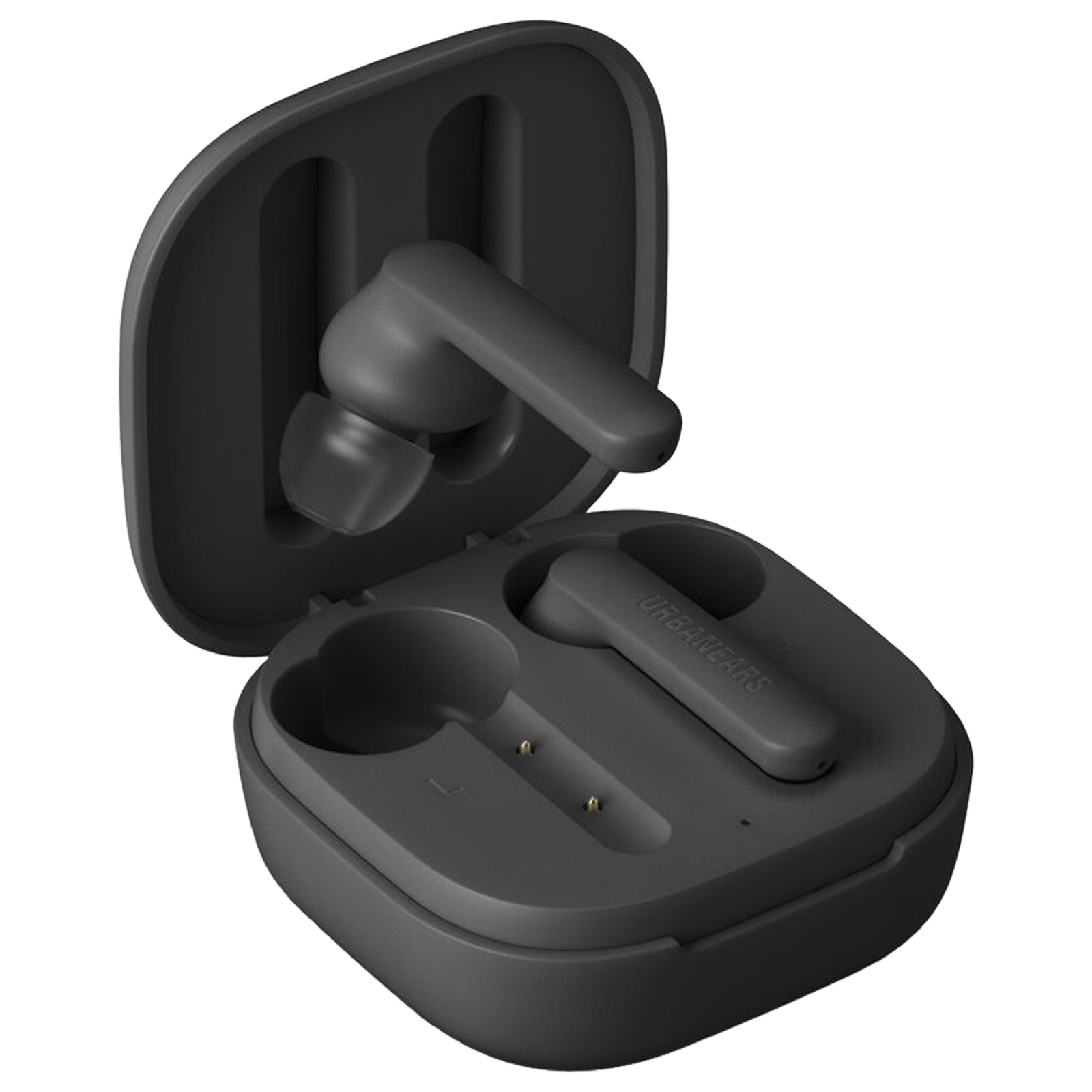 Urbanears Alby In-Ear Truly Wireless Earbuds with Mic (Bluetooth 5.0, Voice Assistant Support, UE-ALBY-BLK, Charcoal Black)_1