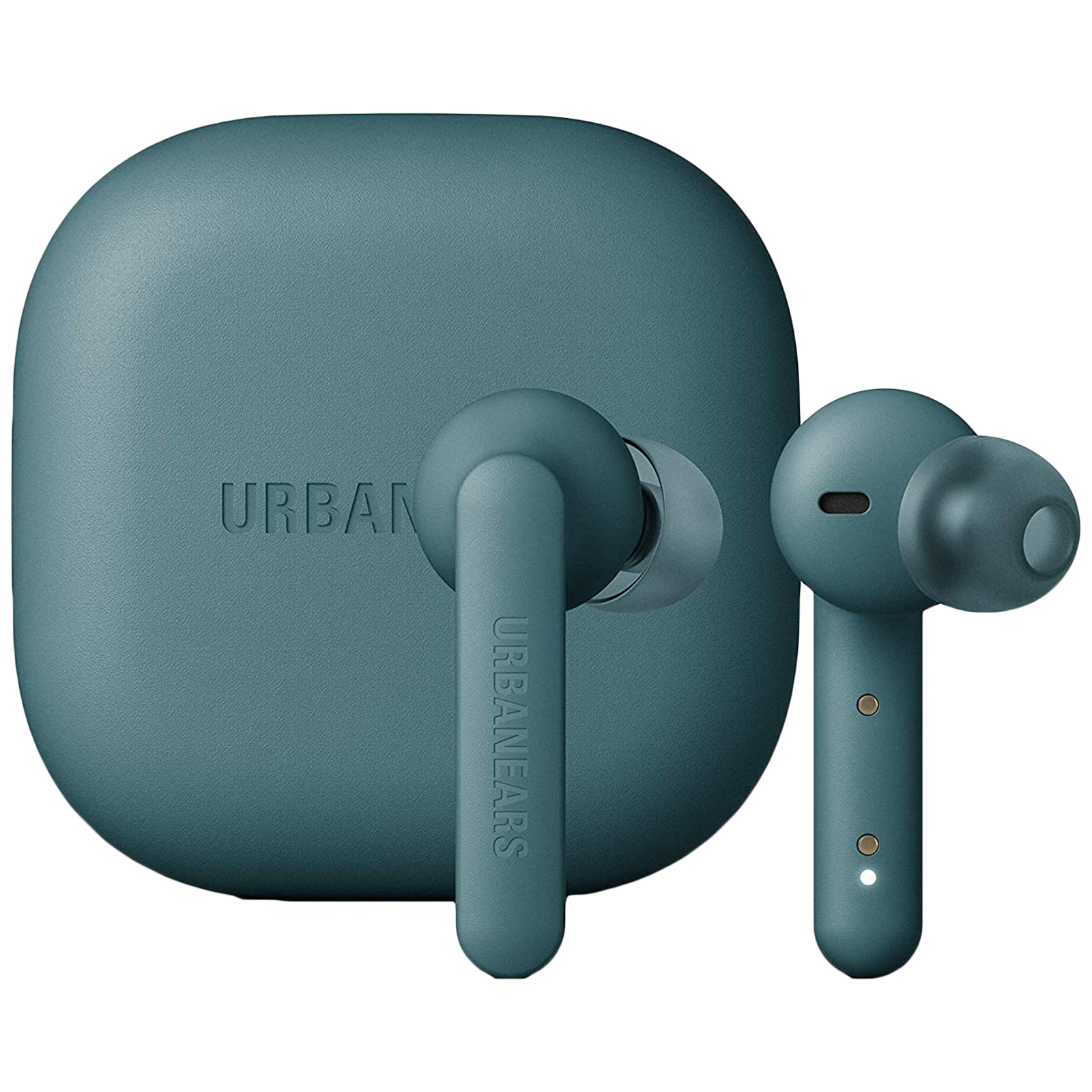 Urbanears Alby In-Ear Truly Wireless Earbuds with Mic (Bluetooth 5.0, Voice Assistant Support, UE-ALBY-GRN, Teal Green)_1