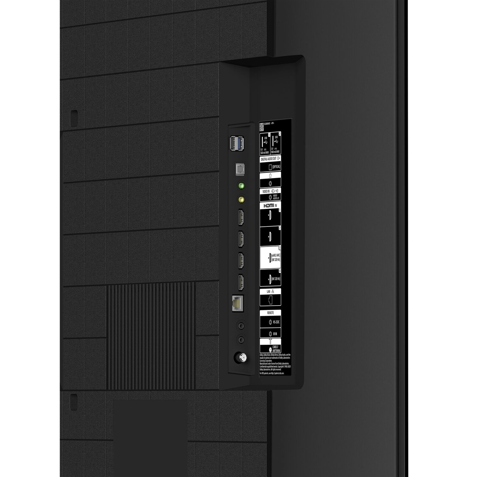 Sony Bravia X90J Series139cm (55 Inch) Ultra HD 4K Full Array LED Google Smart TV (XR Cognitive Processor, XR-55X90J, Black) 5