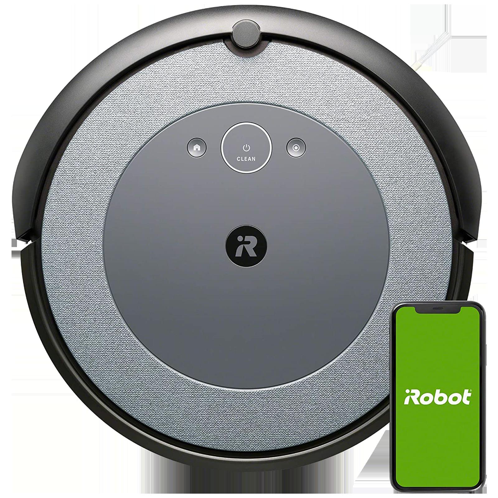 iRobot Roomba i3 33 Watts Robotic Vacuum Cleaner (0.4 Litres Tank, i3152, Grey)_1