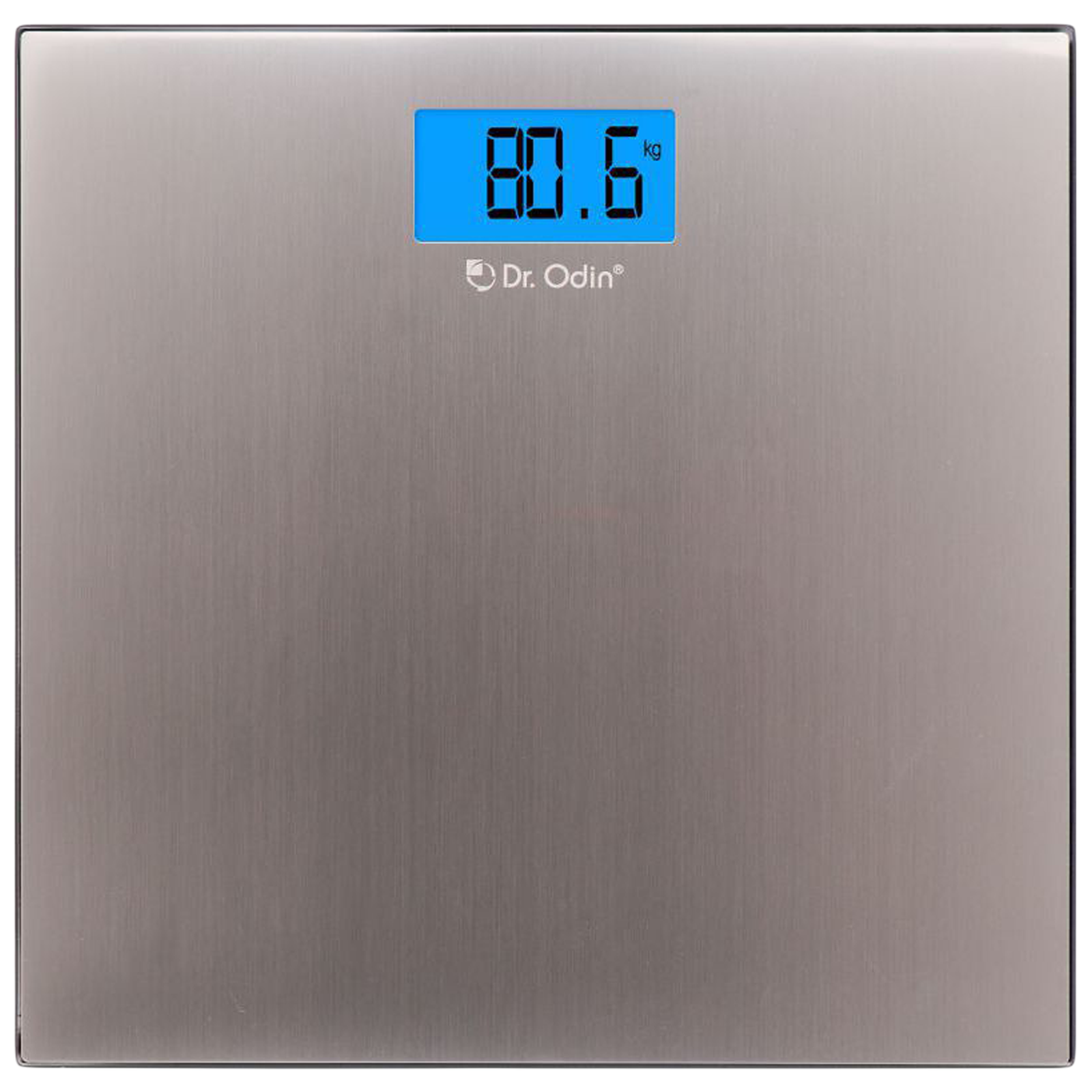 Dr. Odin Weight Scale (4 Sensor Technology, Accurate Reading, CB-302, Silver)_1