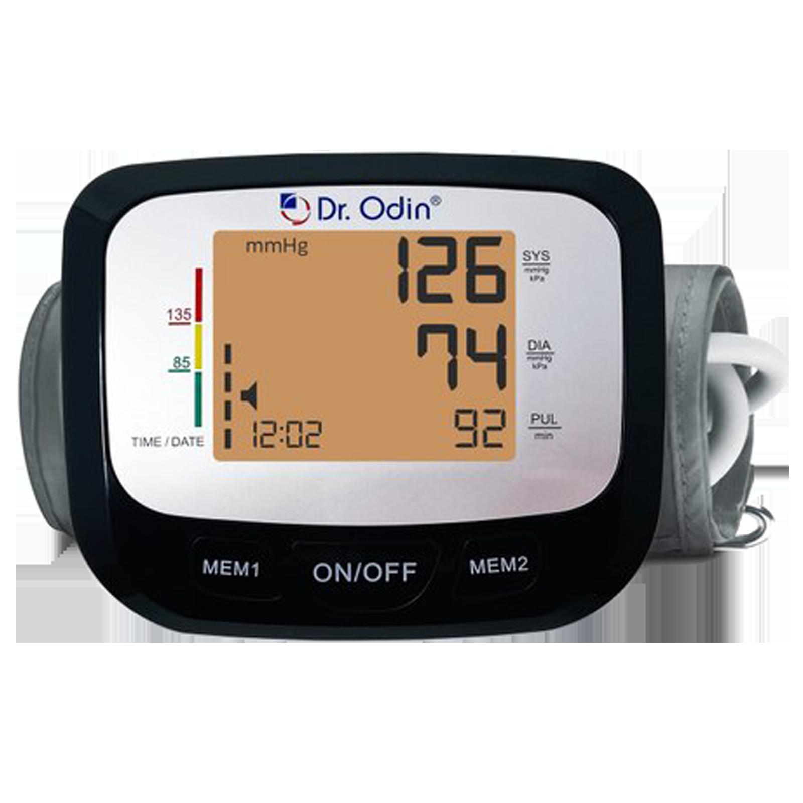 Dr. Odin LCD Blood Pressure Monitor (Intelligent Compression, TSB-602S, Black)_1