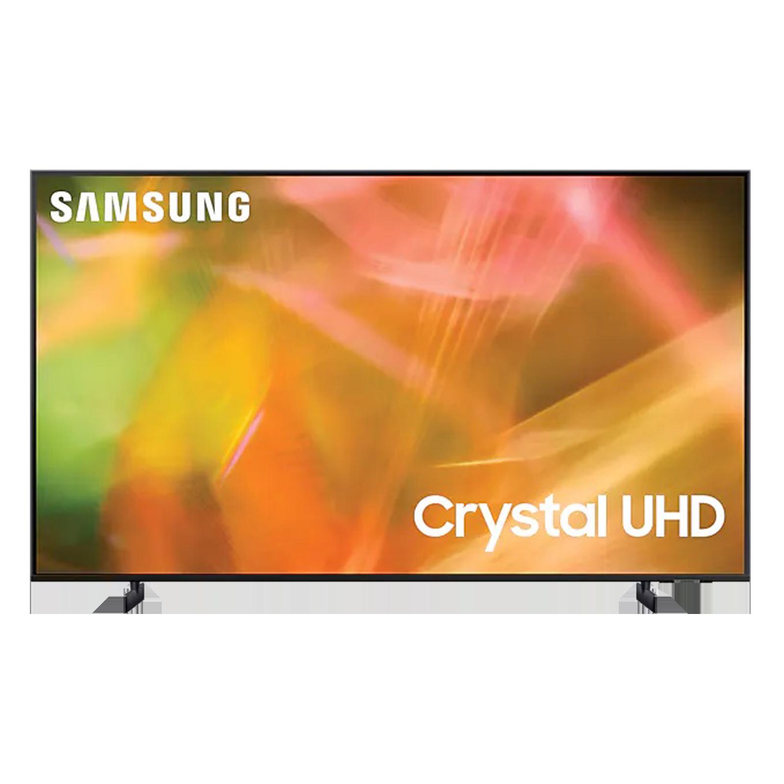 Samsung 8 Series 138cm (55 Inch) Ultra HD 4K LED Smart TV (Multi Voice Assistant Supported, UA55AU8200KLXL, Titan Grey)