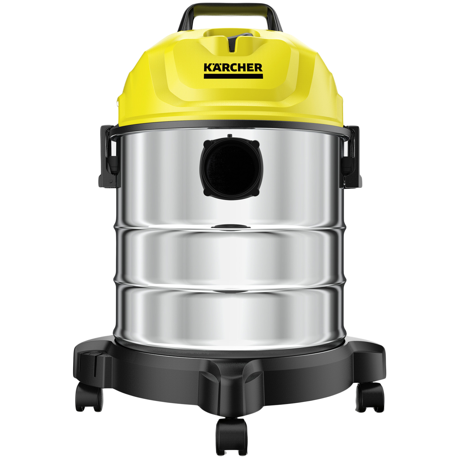 Karcher WD 1s Classic KAP 1300 Watts Wet & Dry Vacuum Cleaner (18 Litres Tank, 1.098-323.0, Yellow)_1