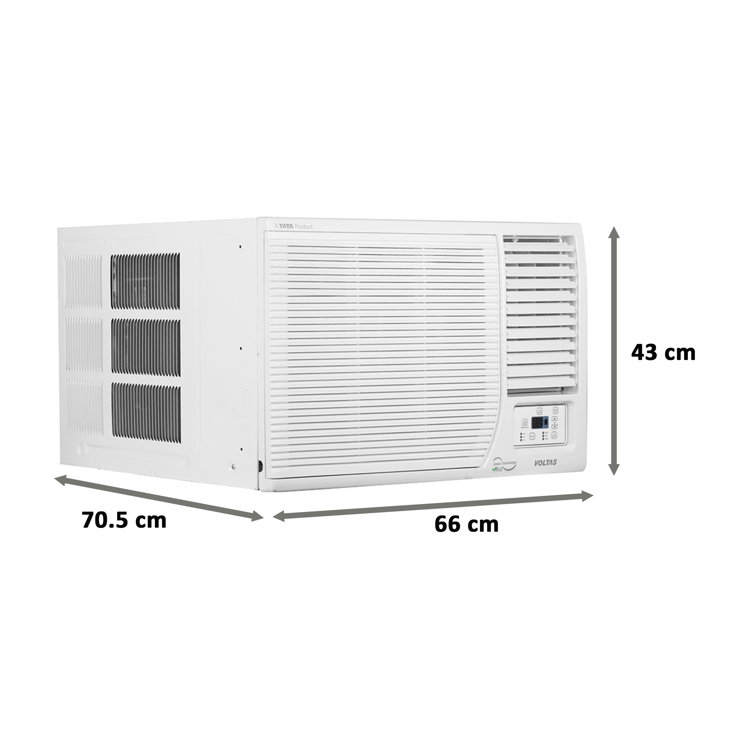 Voltas 1.5 Ton 3 Star Inverter Window AC (Hot and Cold, Copper Condenser, 18H DZB, White)_2