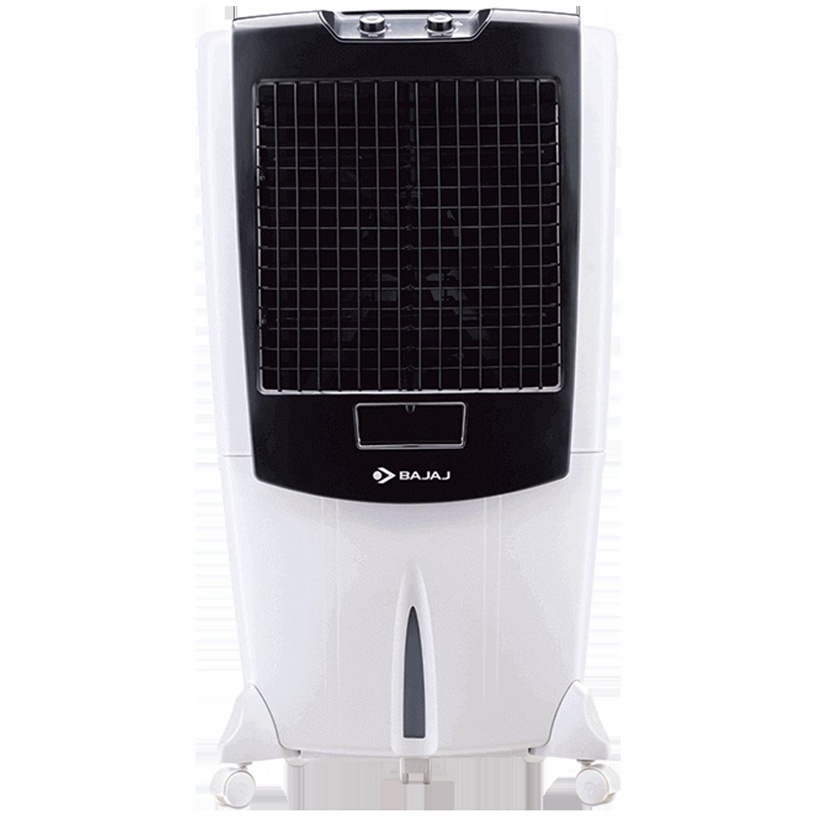 Bajaj 95 Litres Desert Air Cooler (Auto Water Level Indicator, DMH95, White)_1