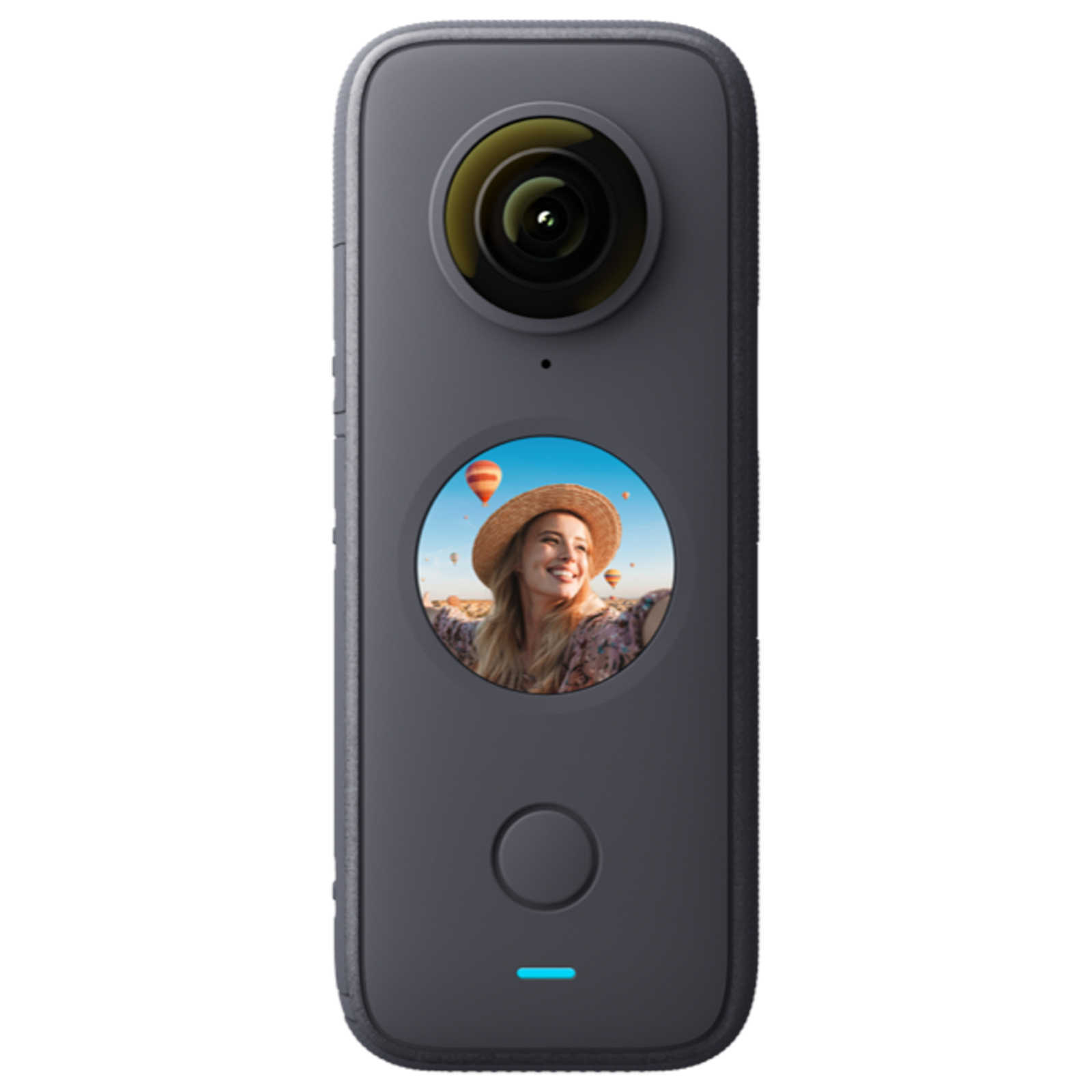 Insta360 One X2 18MP Action Camera (1x Optical Zoom, 6-Axis Gyroscope Sensor, IN.00000009.01, Black)_1