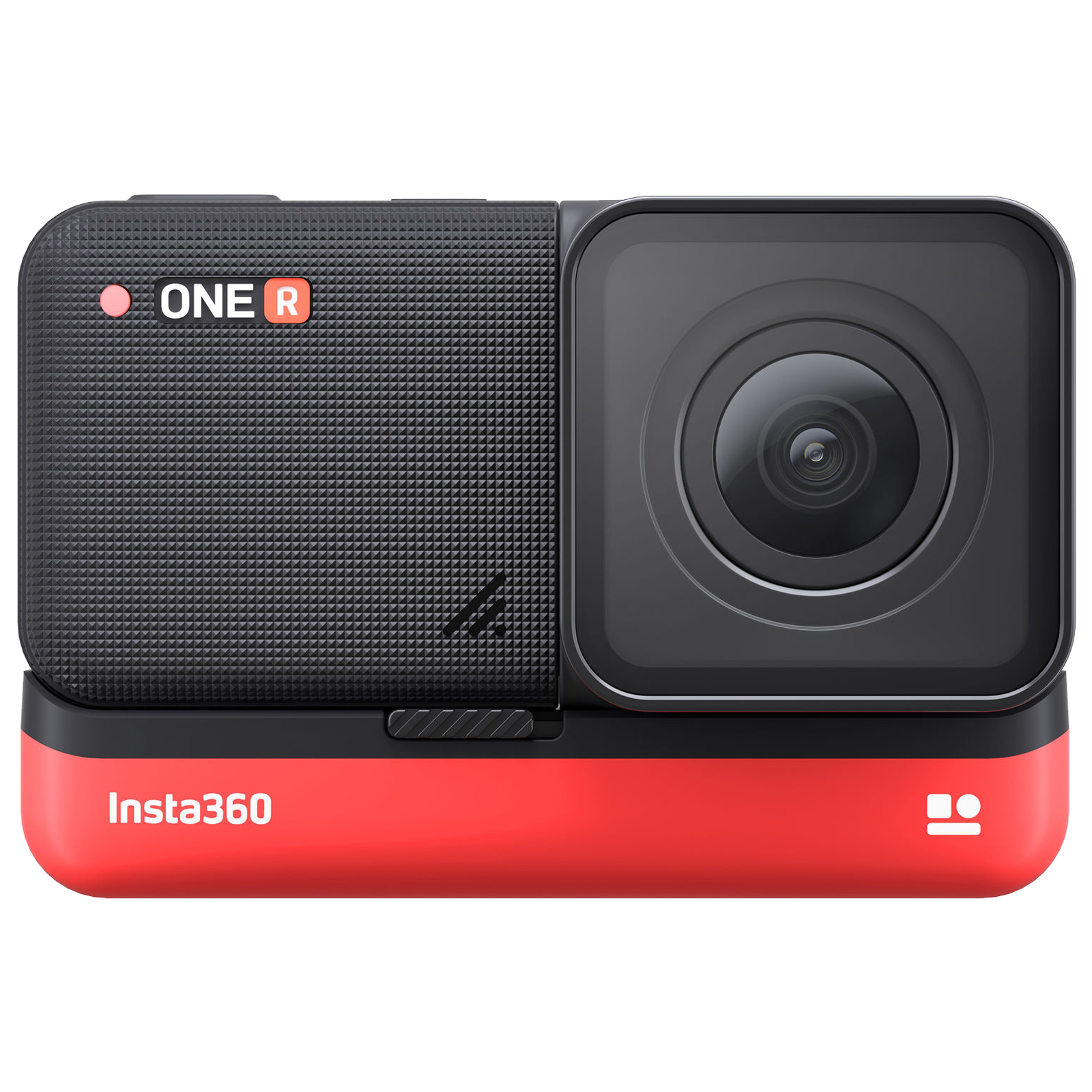 Insta360 One R 4K Edition 12MP Action Camera (1x Optical Zoom, Voice Control, IN.00000008.01, Black)_1