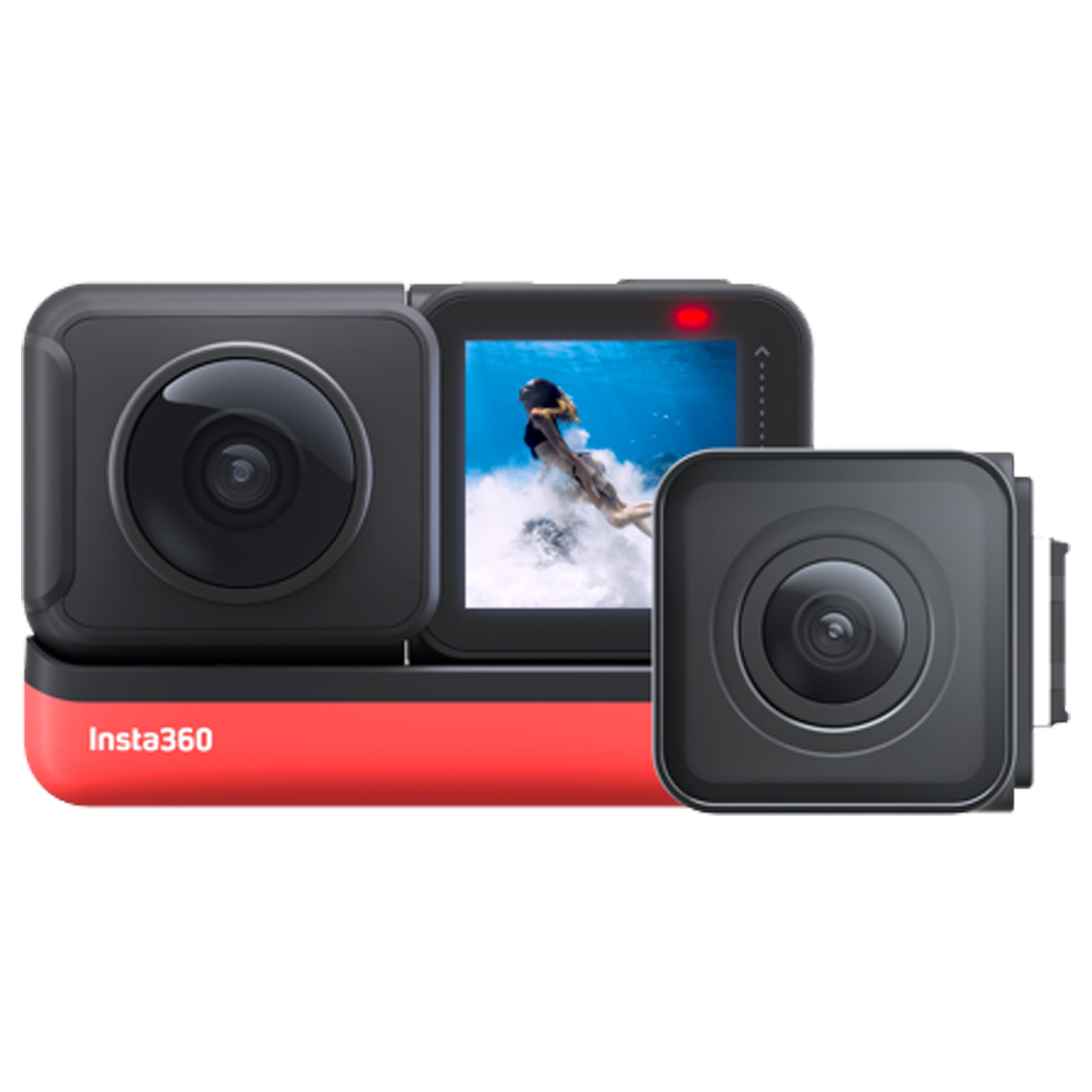 Insta360 One R Twin Edition 12MP Action Camera (Voice Control, IN.00000007.01, Black)_1