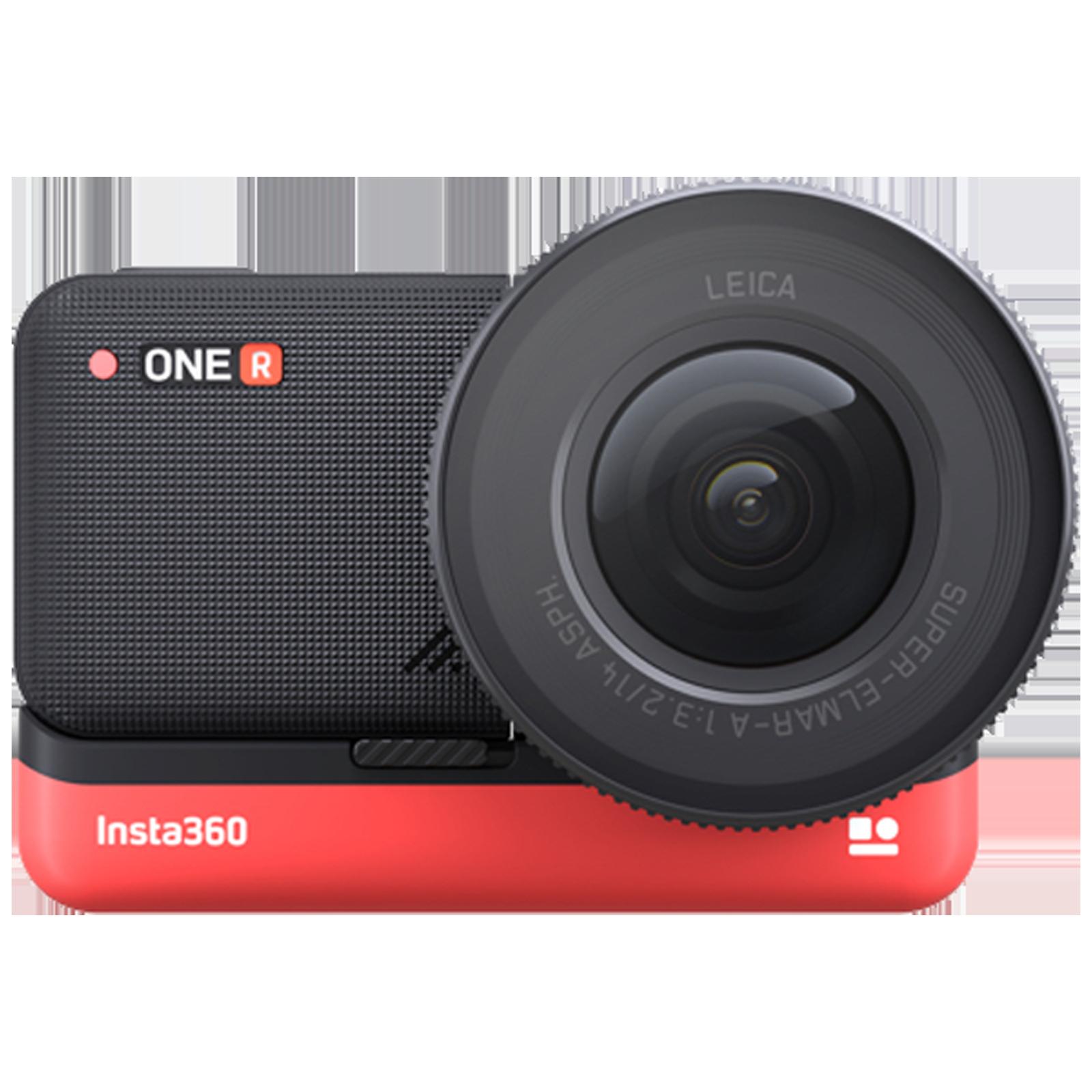 Insta360 One R Ultimate 12MP Action Camera (3x Optical Zoom, Scene-Detection Algorithm, IN.00000006.01, Black)_1