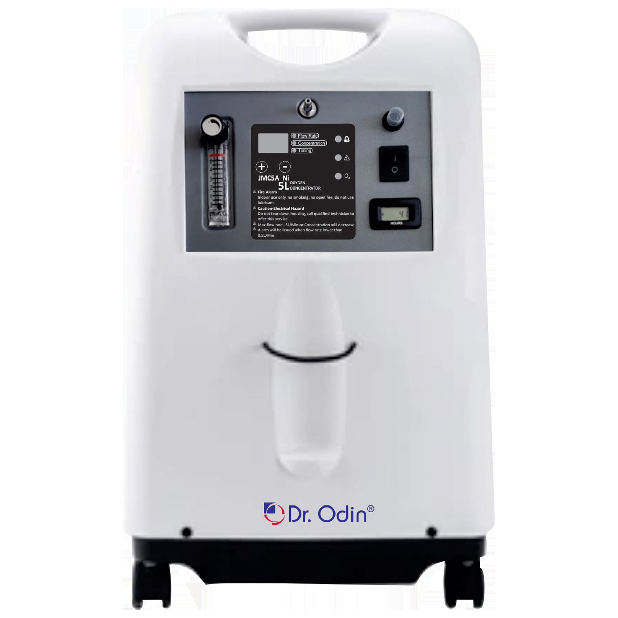 Dr. Odin Oxygen Concentrator (Oxygen Concentration: 0.5~5L/min, 93%+-3%, JMC5A-Ni, White)