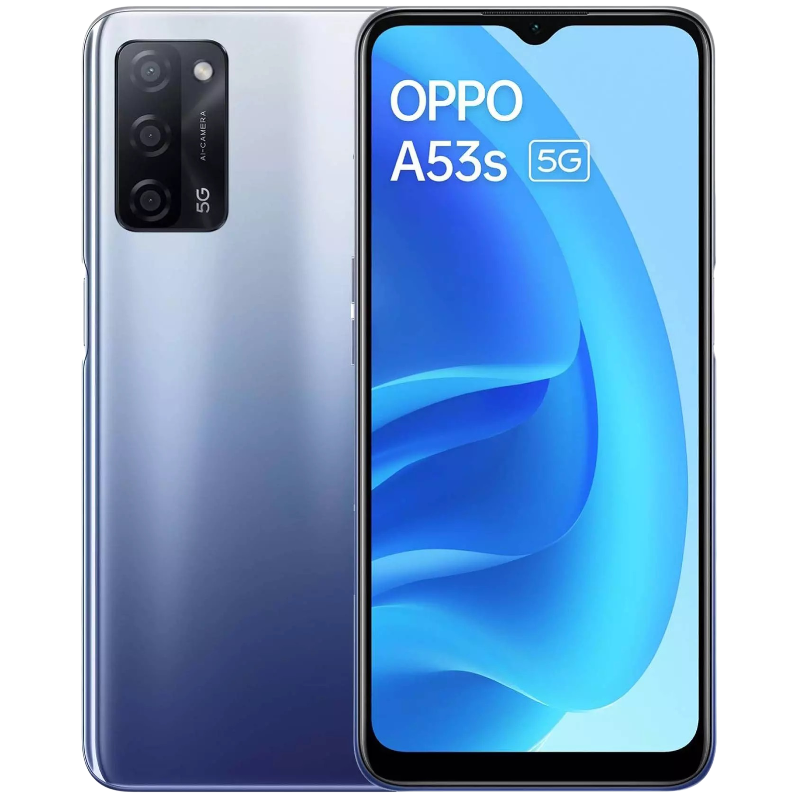 Oppo A53s (128GB ROM, 8GB RAM, CPH2321, Crystal Blue) 9