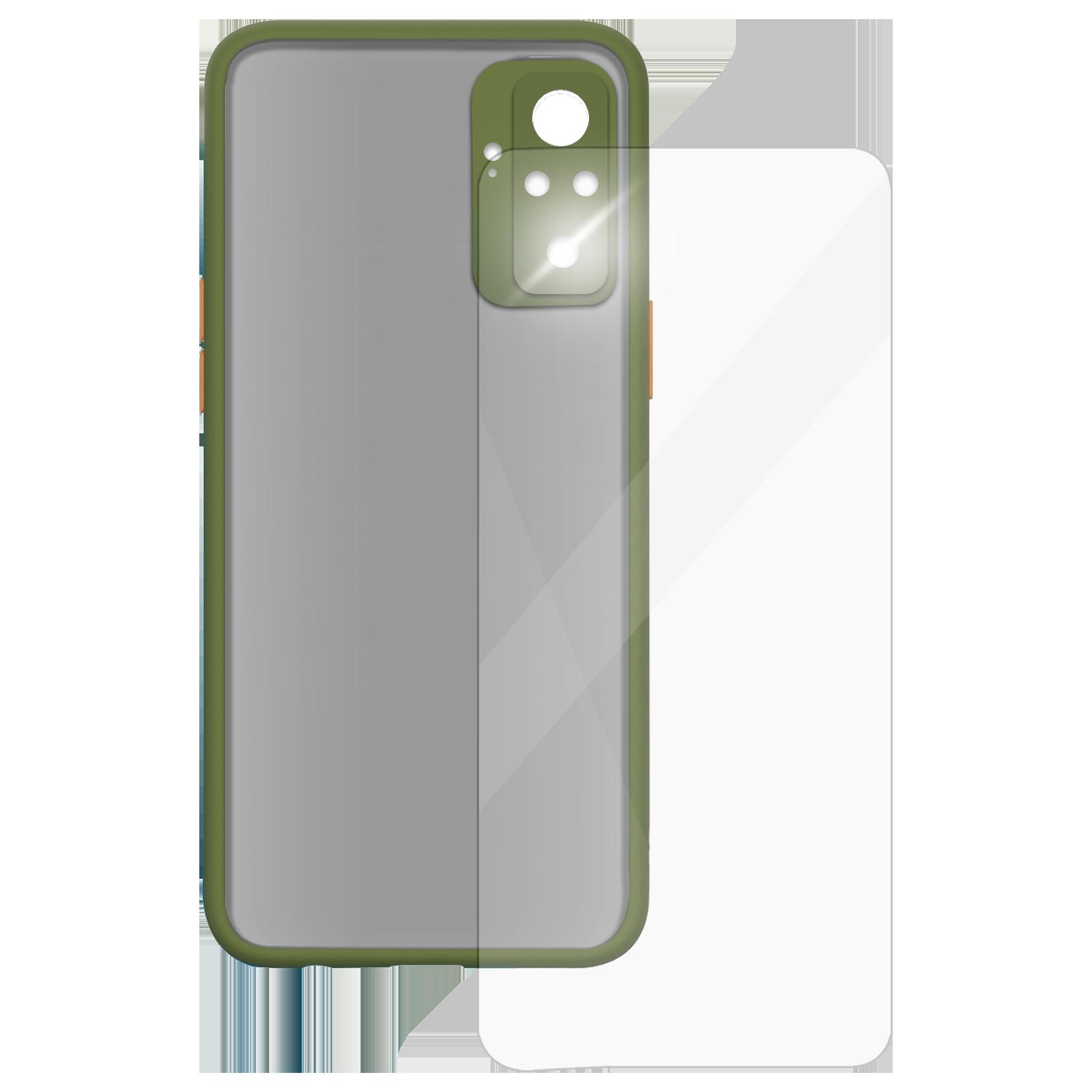 Arrow Camera Duplex Back Case and Screen Protector Bundle For Xiaomi Redmi Note 10 Pro Max (Ultra Transparent Visibility, AR-1007, Light Green)_1