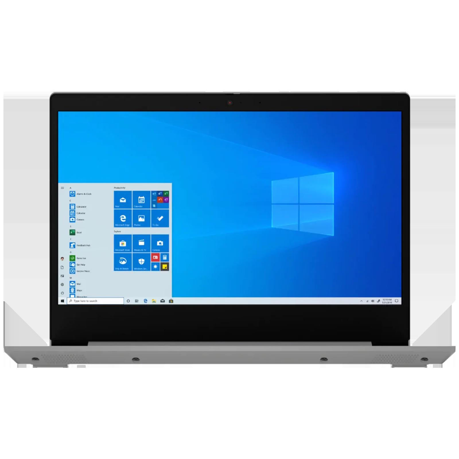 Lenovo Slim 3 (82H700KLIN) Core i3 11th Gen Windows 10 Thin and Light Laptop (8GB RAM, 256GB SSD, Intel UHD Graphics, MS Office, 35.56cm, Grey)_1