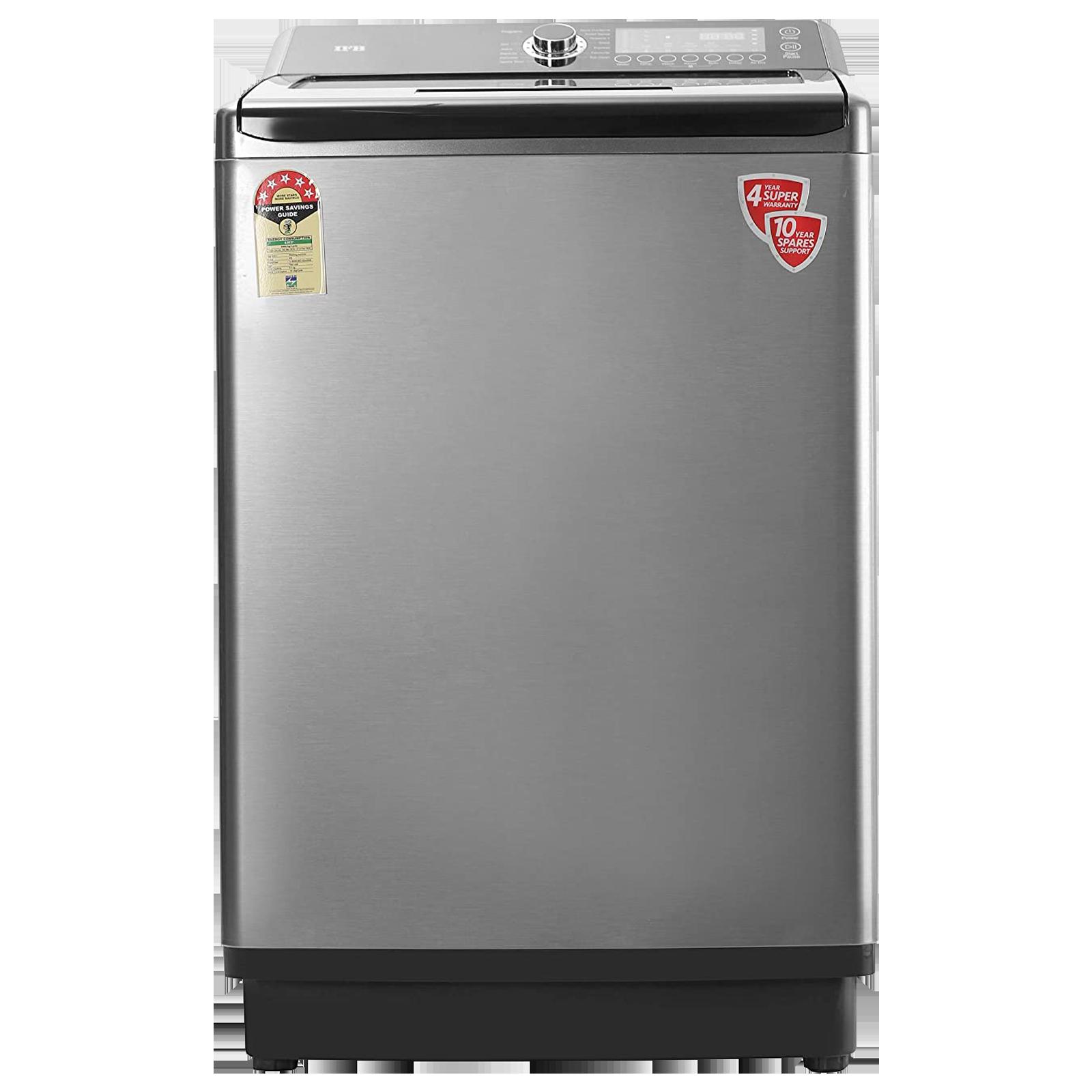 IFB Aqua 10.5 kg 5 Star Fully Automatic Top Load Washing Machine (Built-In Heater, TL-SDIN, PCM - Inox)_1