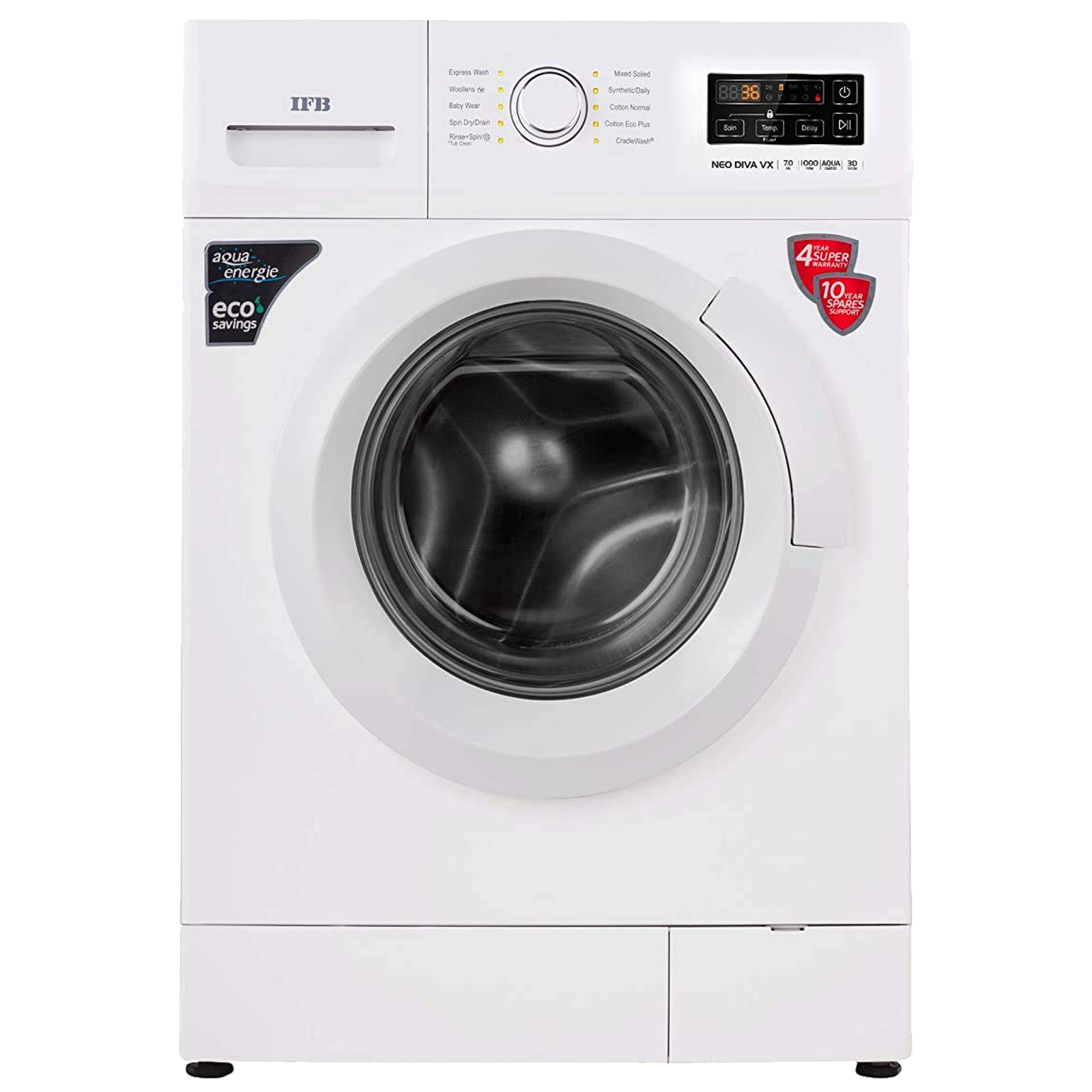 IFB Neo Diva VX 6 kg 5 Star Fully Automatic Front Load Washing Machine (Built-In Heater, White)_1