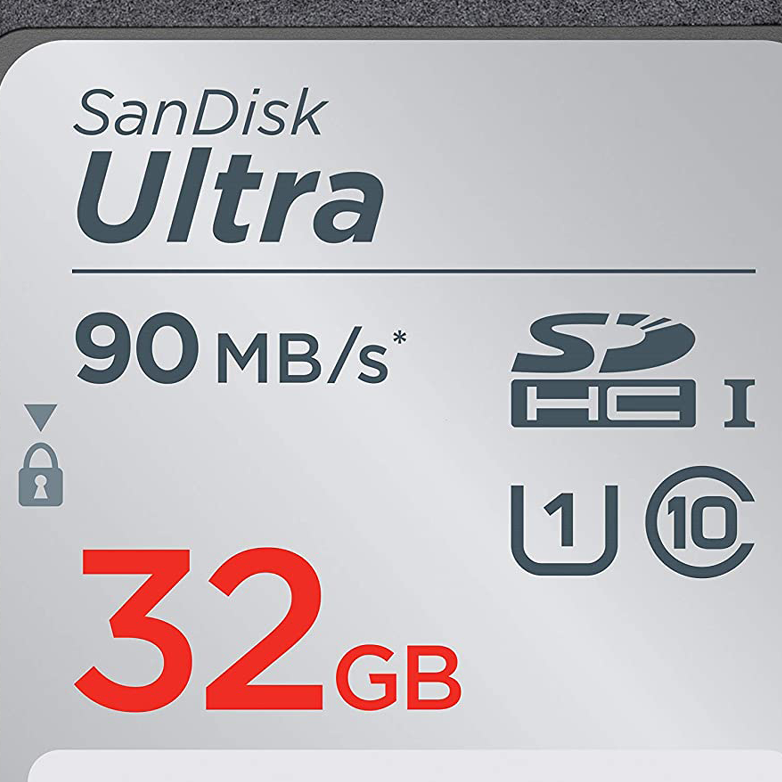 SanDisk Ultra 32GB Class 10 UHS-I SDHC Memory Card (90 MB/s Read Speed, SDSDUNR-032G-GN6IN, Silver)_2