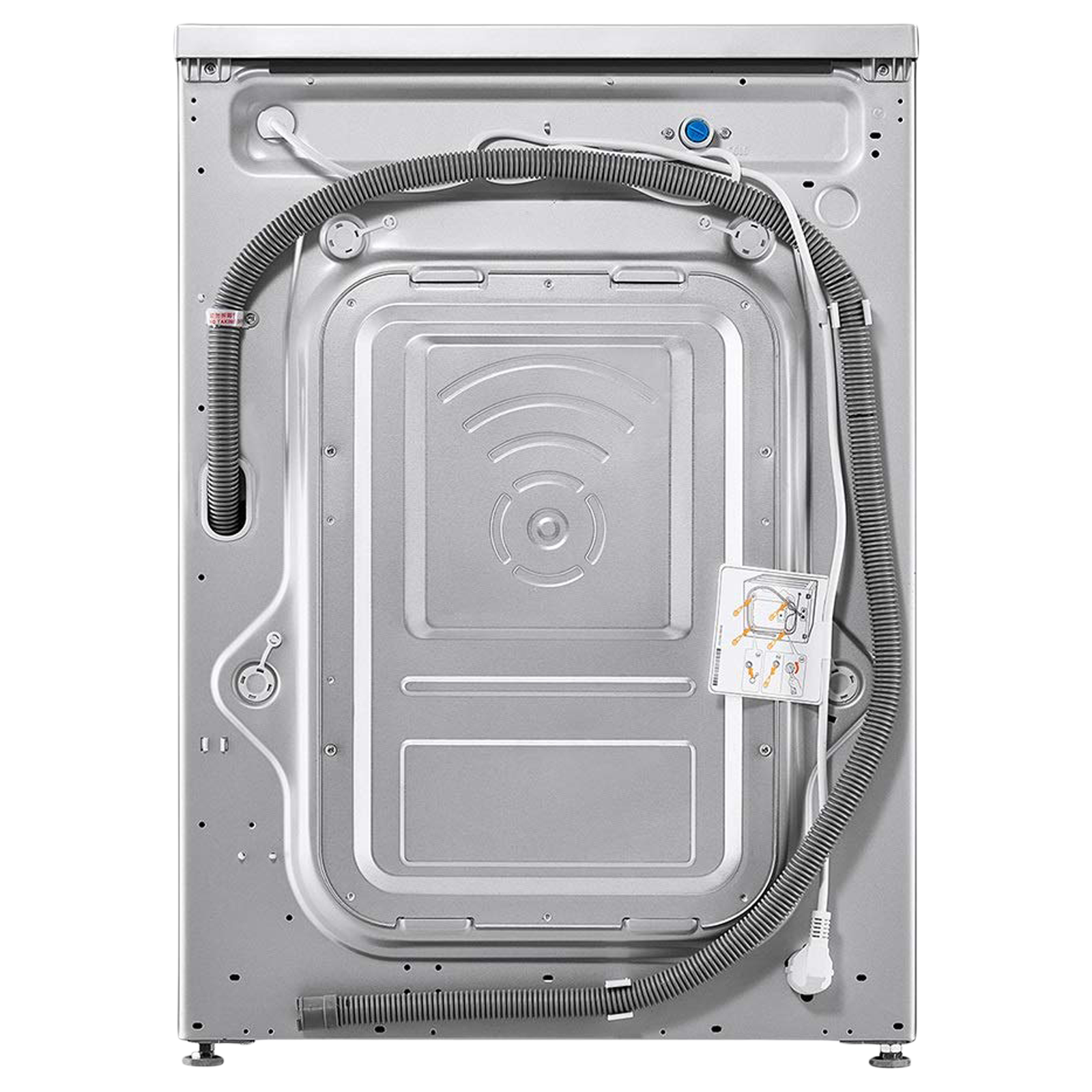 LG 7 kg 5 Star Fully Automatic Front Load Washing Machine (Smart Diagnosis, FHM1207ZDL.ALSQEIL, Luxury Silver) 7