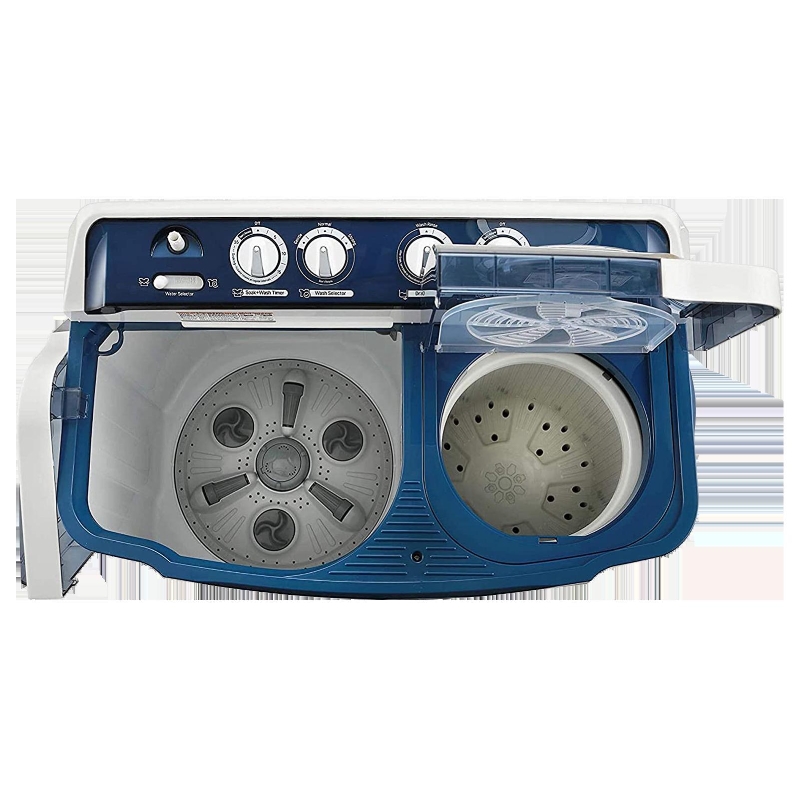 LG 7 kg 4 Star Semi-Automatic Top Load Washing Machine (Auto Restart, P7025SBAY.ADBQEIL, Dark Blue)_4