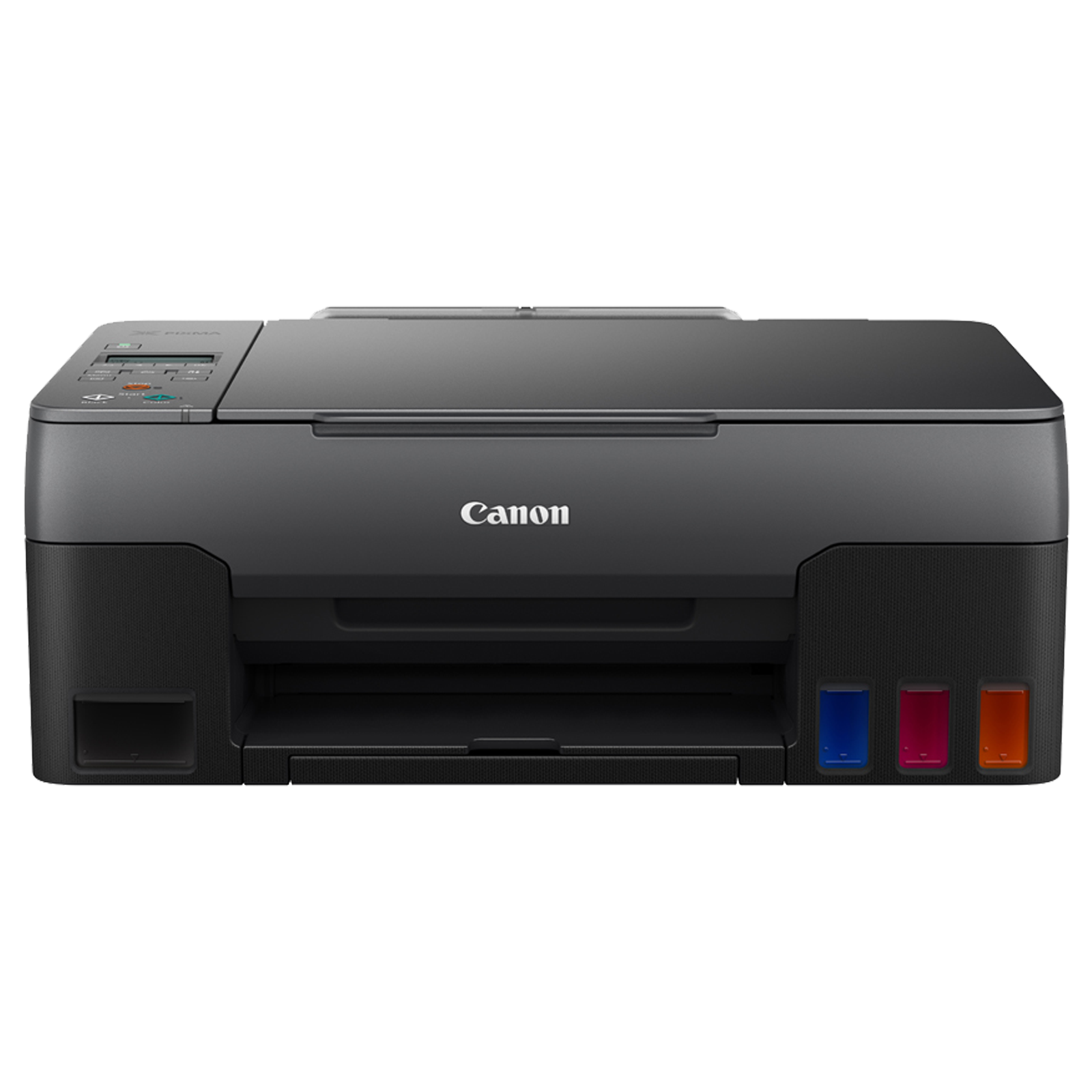 Canon Pixma Wireless Color All-in-One Ink Tank Printer (Borderless Printing, G3020, Black)_1