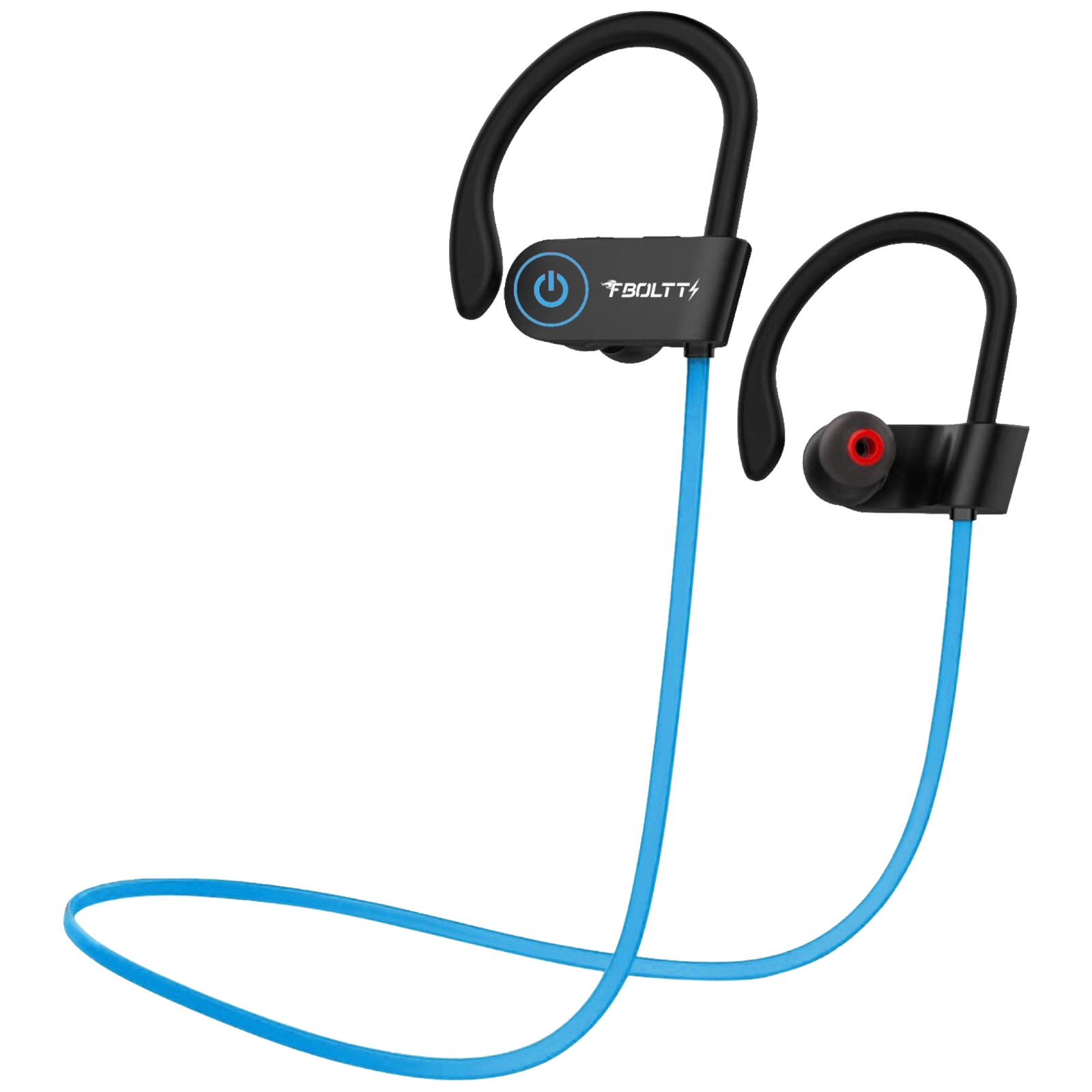 Fire-Boltt BN1301 In-Ear Noise Isolation Wireless Earphone with Mic (Bluetooth 5.0, Hands-Free Calling Support, BN1300, Blue)_1
