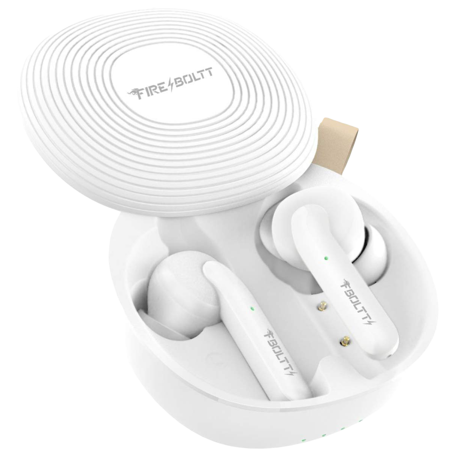 Fire-Boltt BE1101 In-Ear Noise Isolation Truly Wireless Earbuds with Mic (Bluetooth 5.0, Voice Assistant Supported, BE1100, White)_1