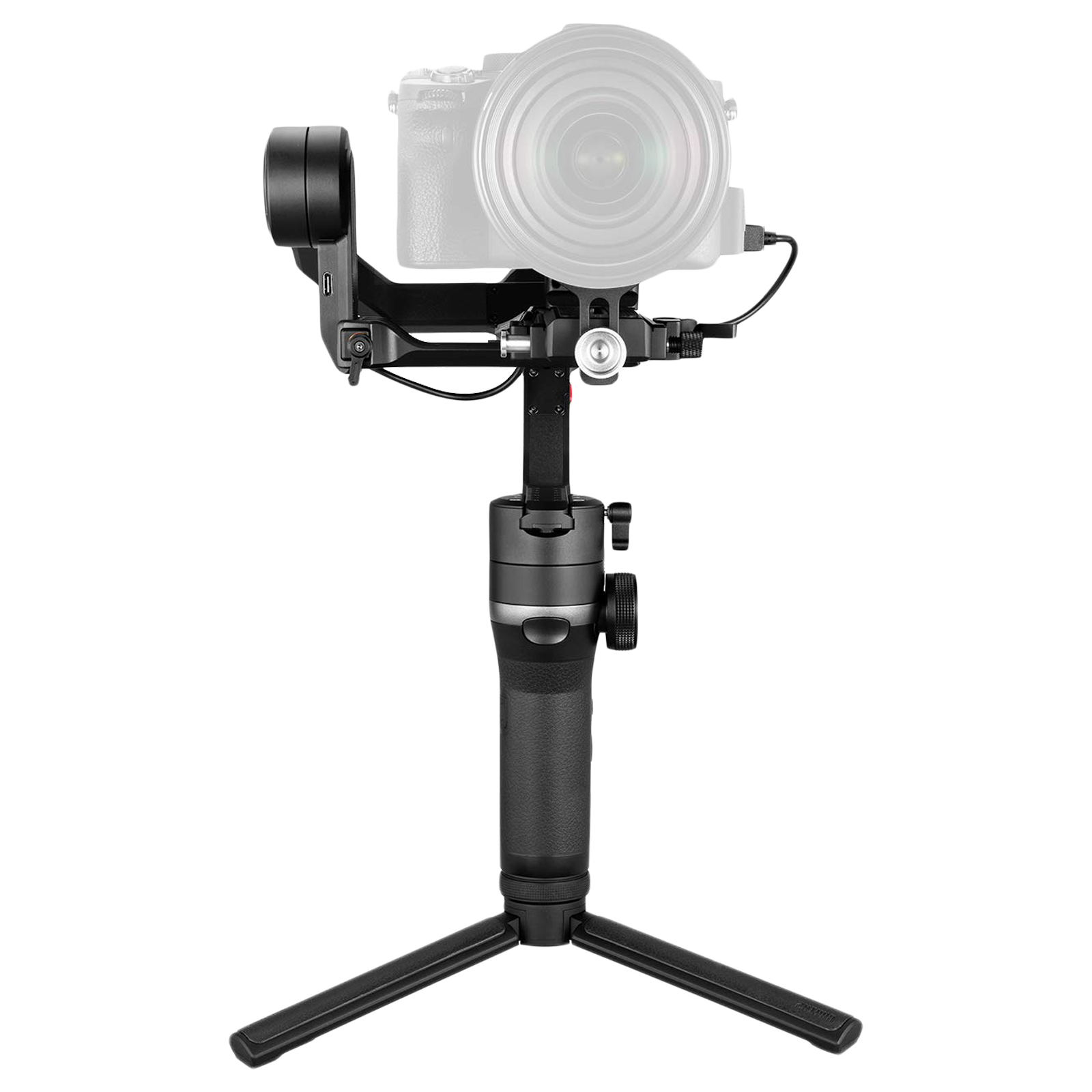 Zhiyun Weebill-S Gimbal for DSLR and Mirrorless Cameras (2-in-1 Quick Release System, ZH.00000006.01, Black)_1