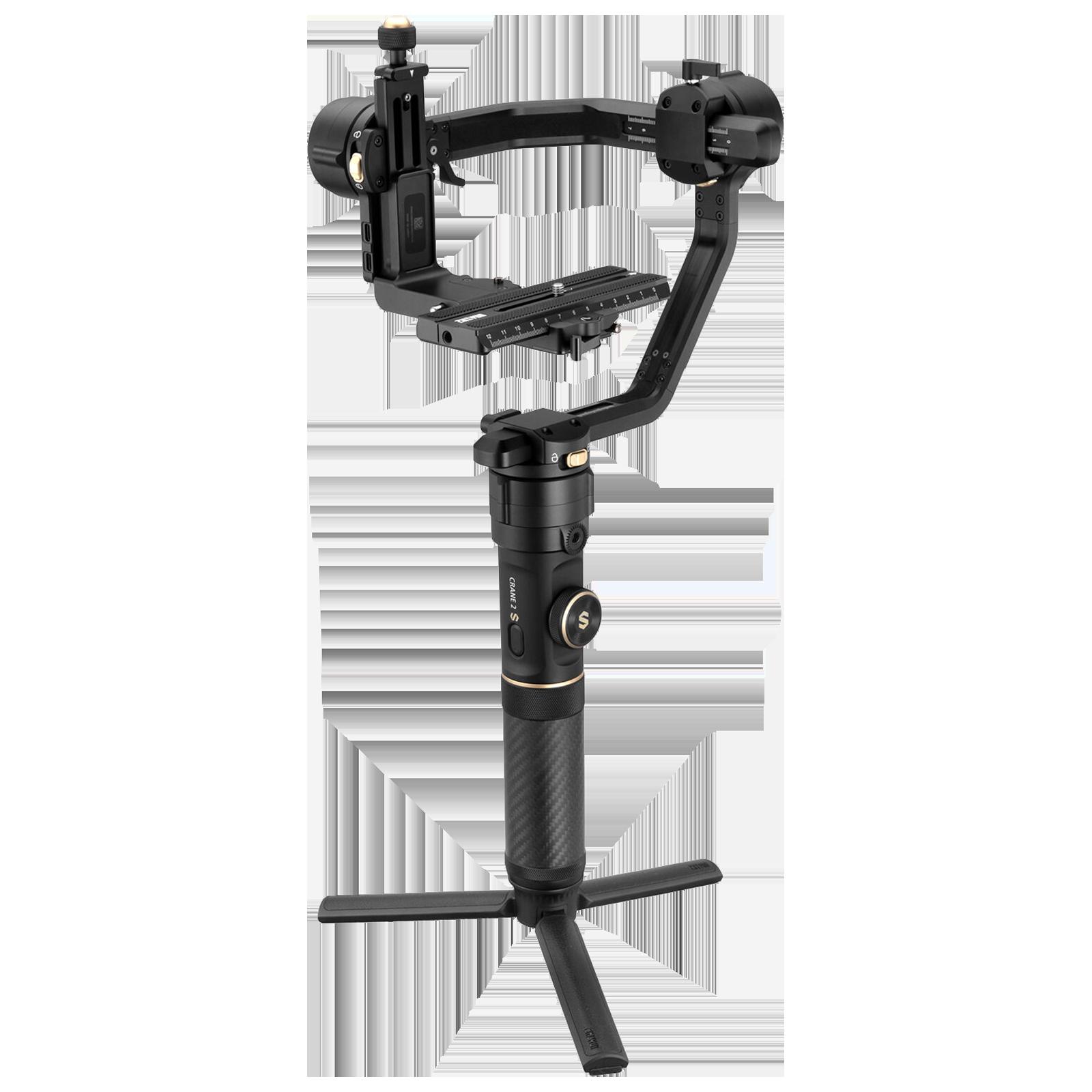 Zhiyun Crane 2S Gimbal ForDSLR Camera and Mirrorless Camera (Axis Locking Mechanism 2.0, ZH.00000008.01, Black)_1