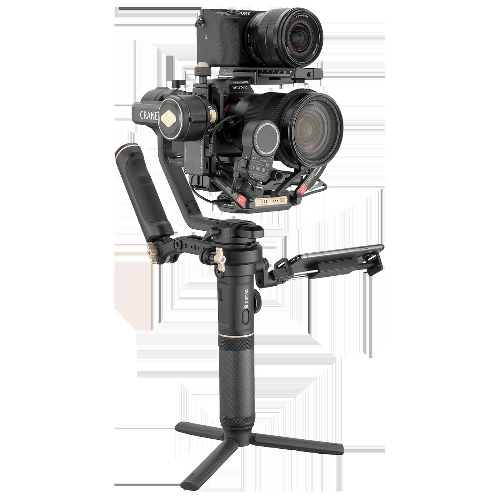 Zhiyun Crane 2S Pro Gimbal ForDSLR Camera and Mirrorless Camera (Six Gimbal Modes, ZH.00000009.01, Black)_1