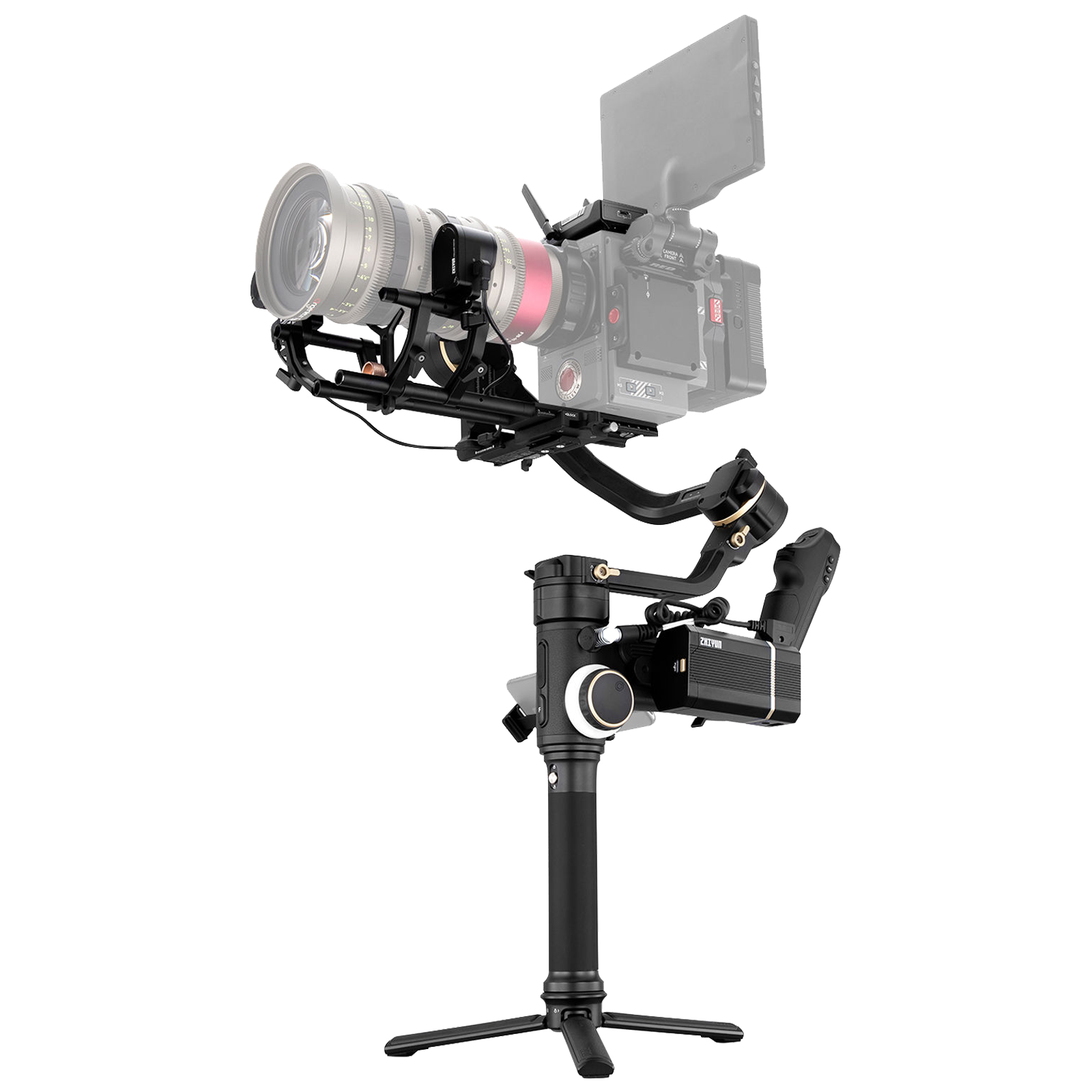 Zhiyun Crane 3S Pro Gimbal For DSLR Camera and Camcorder (Viatouch 2.0 Motion Control System, ZH.00000010.02, Black)_1
