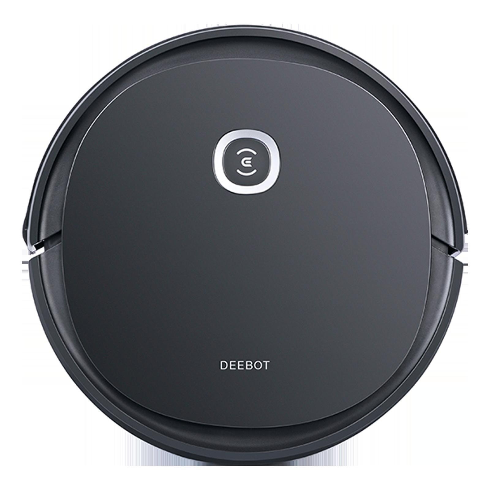 Ecovacs Deebot Ozmo 26 Watts Robotic Vacuum Cleaner (800 ml Dust Tank, U2PRO, Black)_1