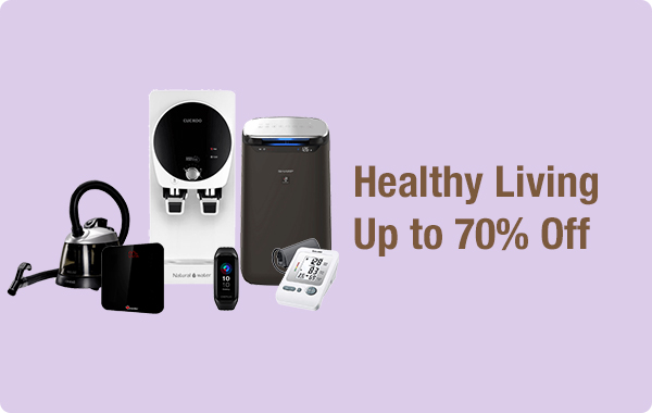 Healthy Living Up to 70% off