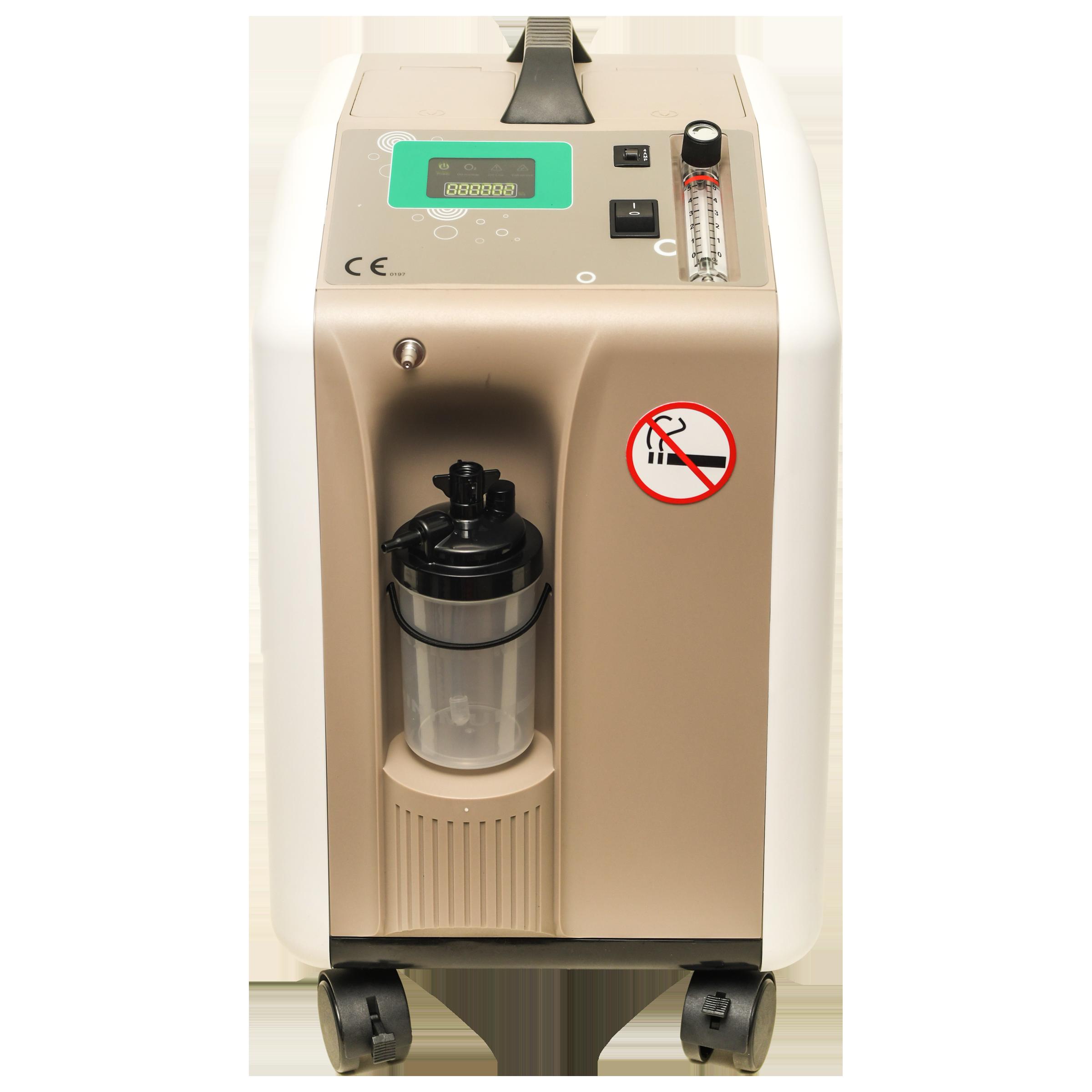 VedMed Healthcare MIC Oxygen Concentrator (Flow Speed: 05 LPM, Oxygen  Purity 93% + - 3%, VMMOC5, Beige)_1
