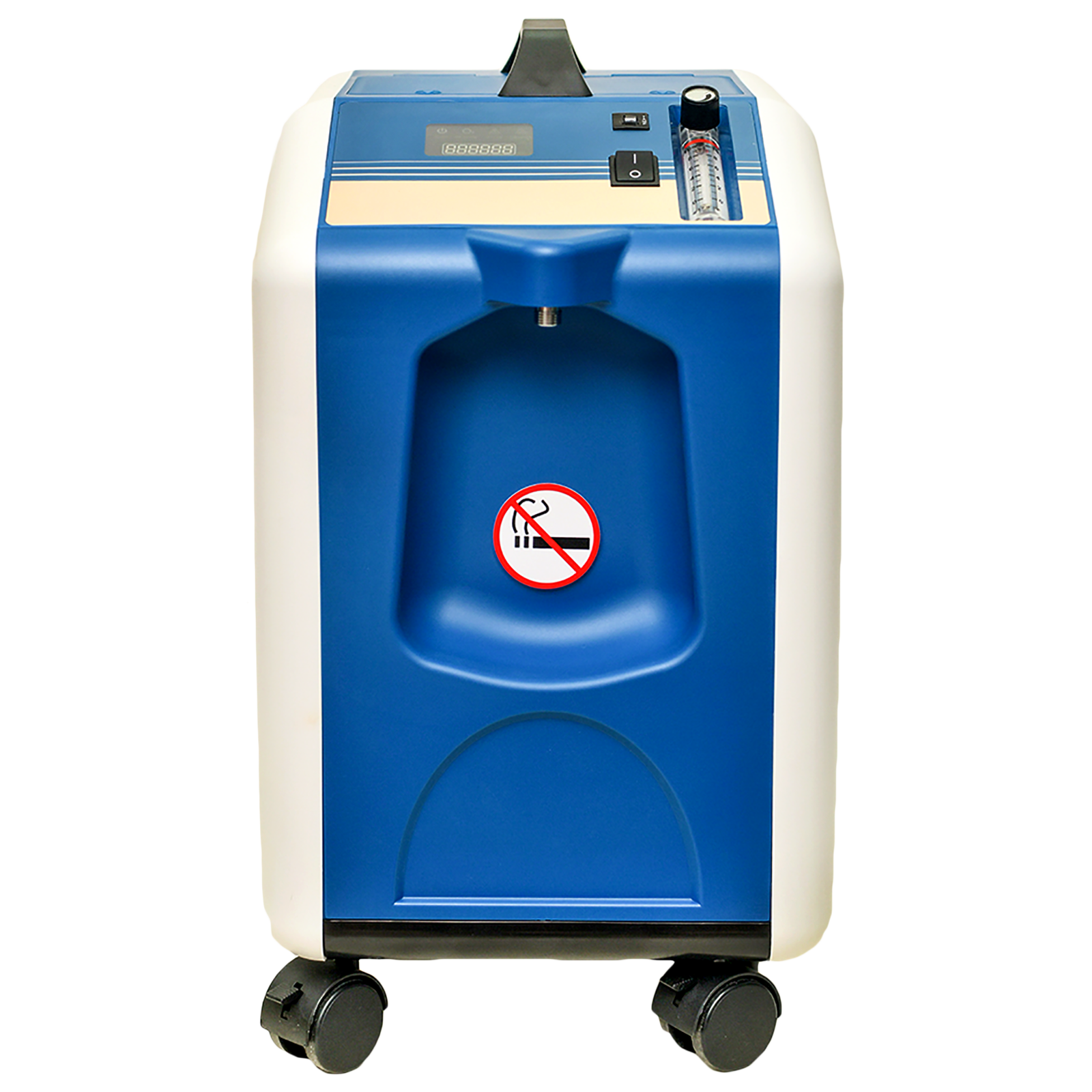 VedMed Healthcare MIC Oxygen Concentrator (Flow Speed: 10 LPM, Oxygen  Purity 93% + - 3%, VMMOC10, Blue)_1