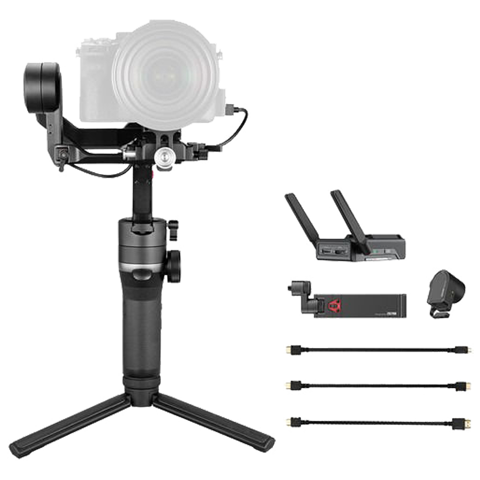 Zhiyun Weebill-S Image Transmission Pro Gimbal For DSLR Camera and Mirrorless Camera (Six Modes of Operation, ZH.00000006.03, Black)_1