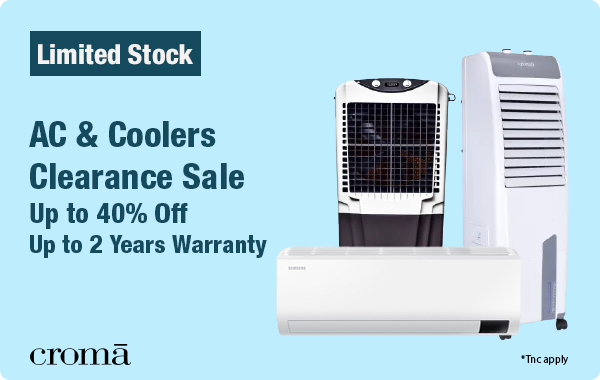 AC & Coolers Clearance Sale