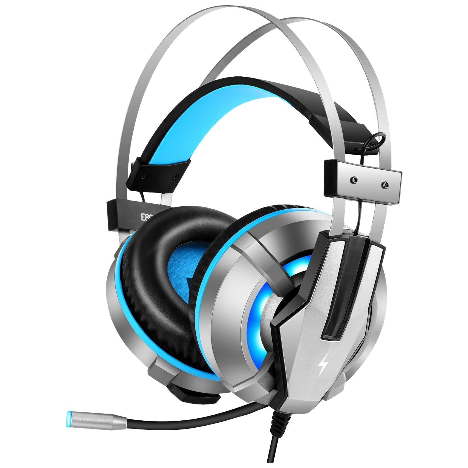 Fire-Boltt 12BGHAAY#1 Over-Ear Wired Gaming Headphone with Mic (Magnetic Neodymium Driver, BGH1200, Blue)_1