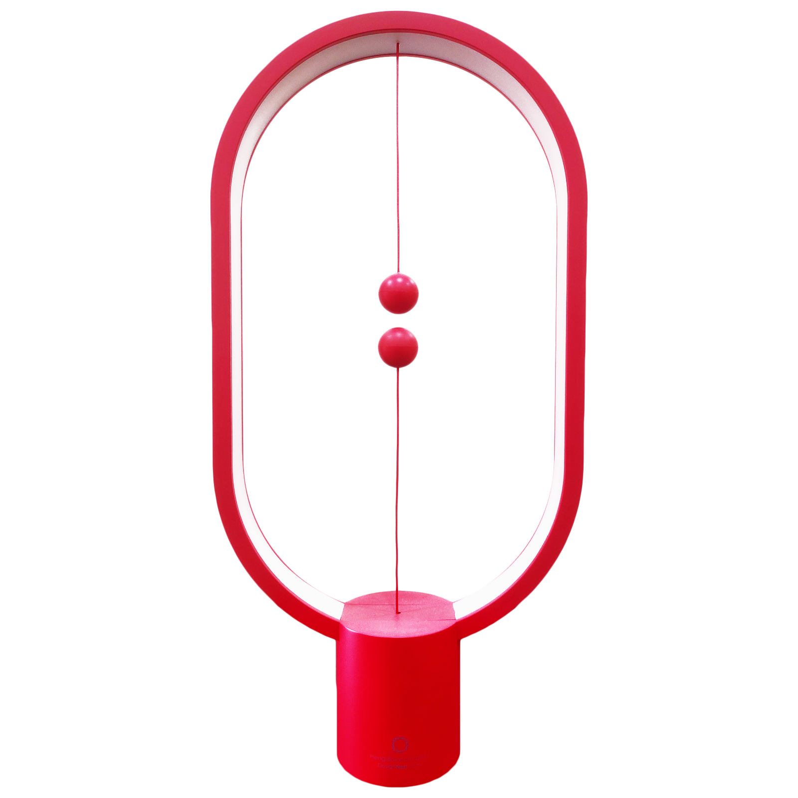 DesignNest Heng Balance 5 Watts LED Table Lamp (249 Lumens, 20000 Hours Life Span, DH0075RD/HBLEUC, Red)_1