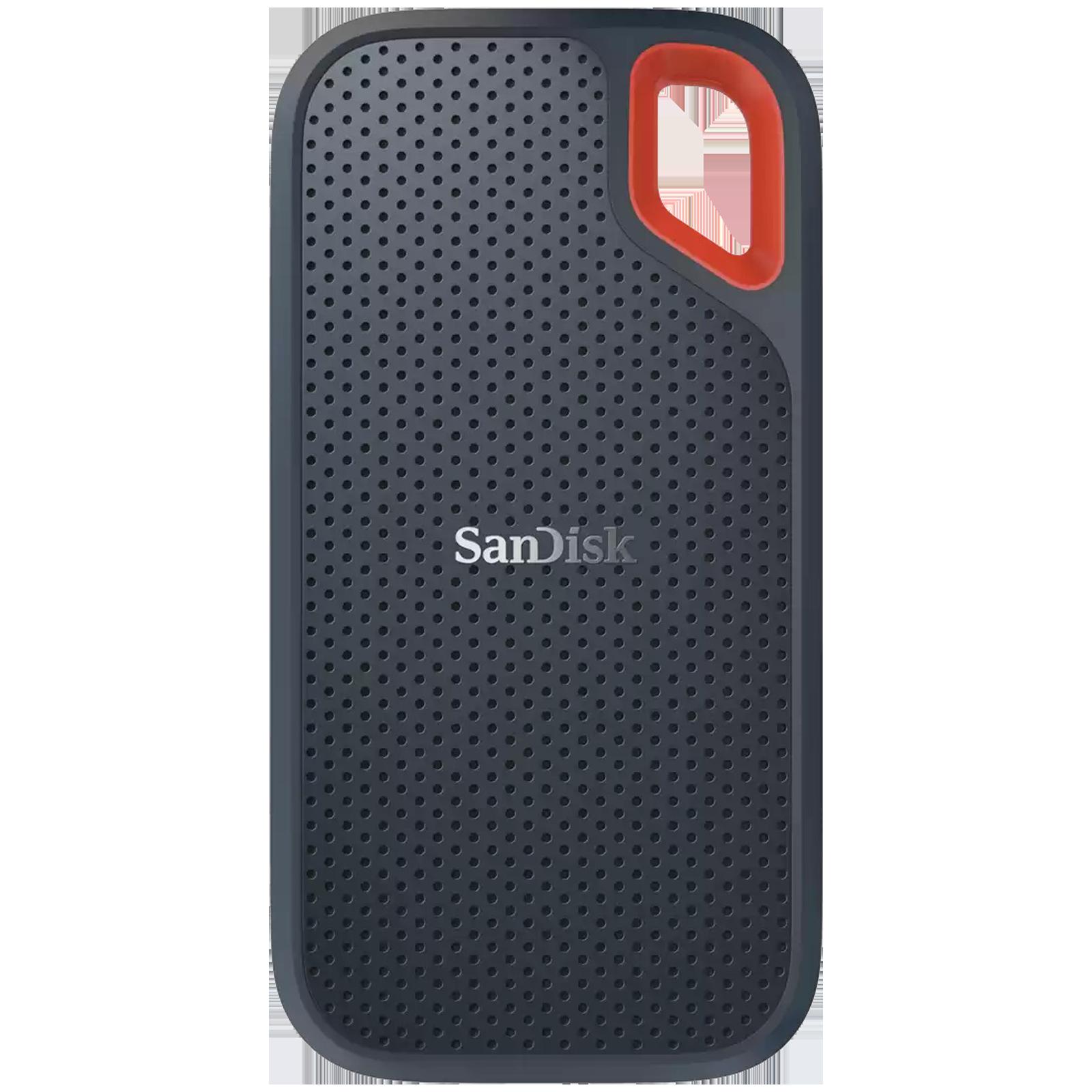 SanDisk Extreme 500GB USB 3.2 (Type-C) Solid State Drive (Water Resistant, SDSSDE61-500G-G25, Dark Blue)_1