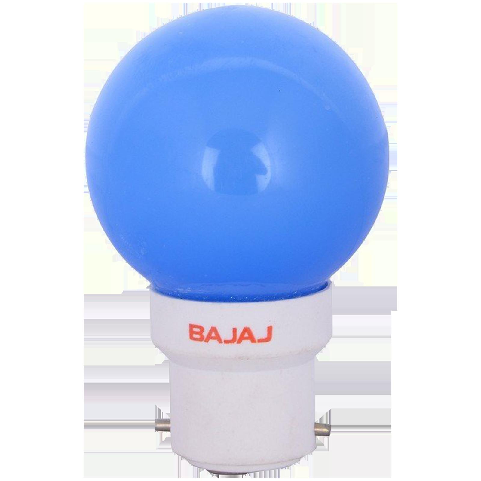 Bajaj Deco Ping Pong 0.5 Watts Electric Powered LED Bulb (1400 Lumens, 830021, Blue)_1