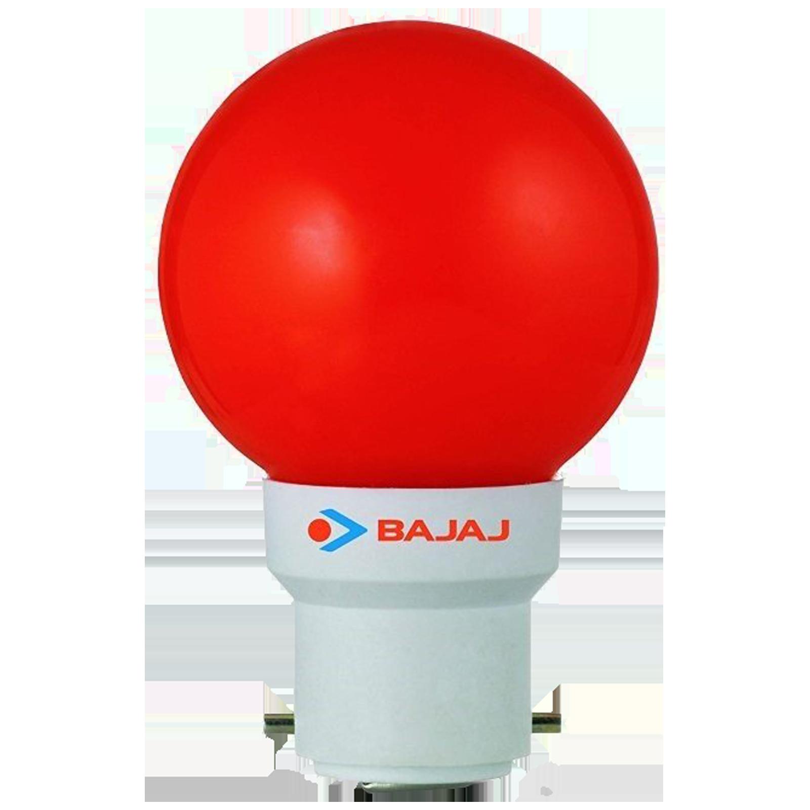 Bajaj Deco Ping Pong 0.5 Watts Electric Powered Night Lamp (1400 Lumens, 830023, Red/White)_1
