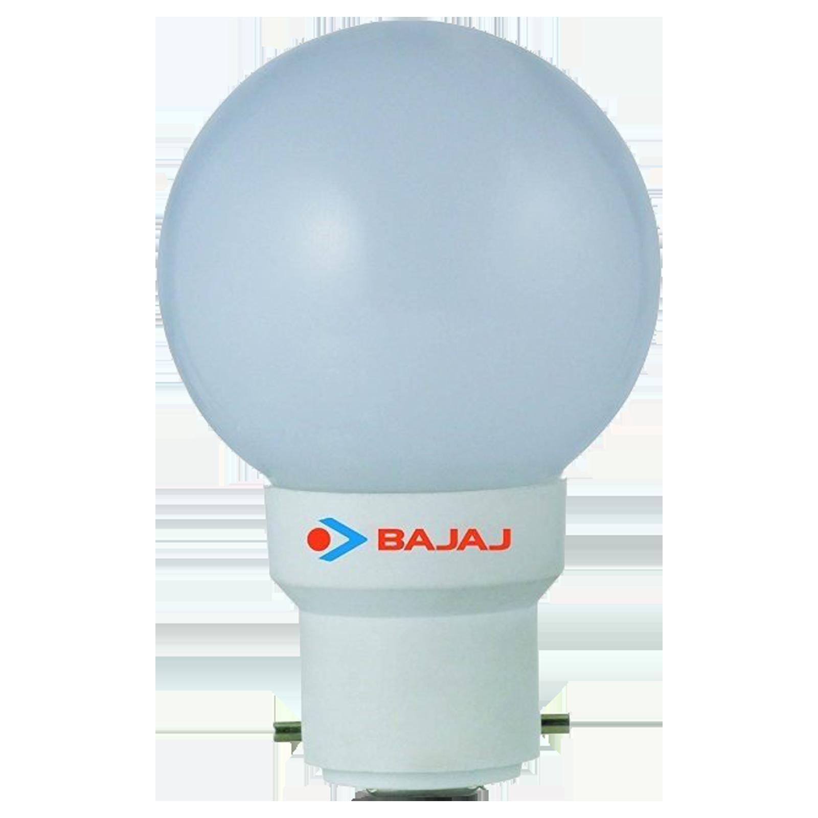 Bajaj Deco Ping Pong 0.5 Watts Electric LED Bulb (830025, White)_1