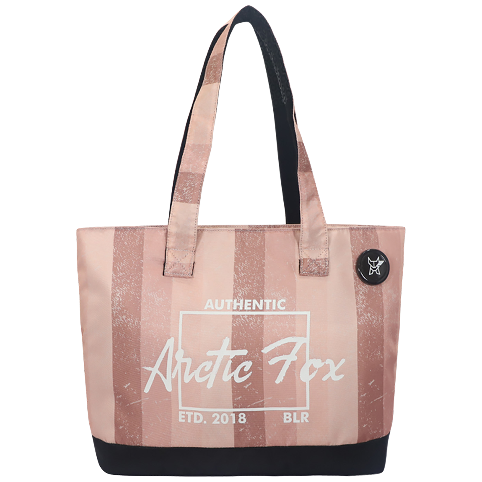 Arctic Fox 15 Litres Polyester Tote Bag for 15 Inch Laptop (Spacious Padded Compartment, FUNSLIPINWZ100015, Pink)_1