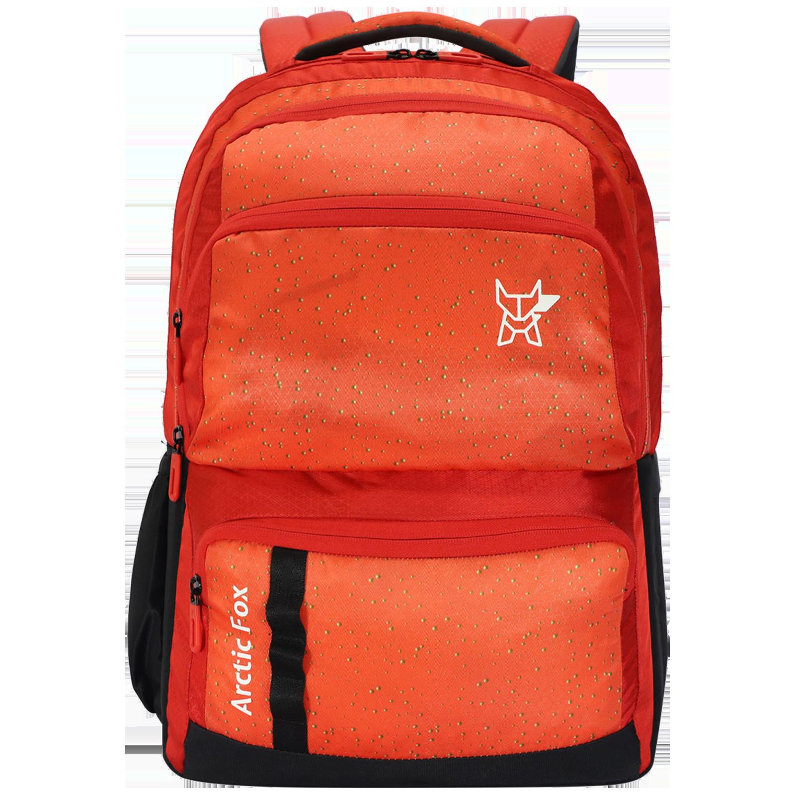 Arctic Fox Gold Mine 32 Litres Polyester Backpack for 15 Inch Laptop (Adjustable Straps, FUNBPKHCRON104032, Orange)_1